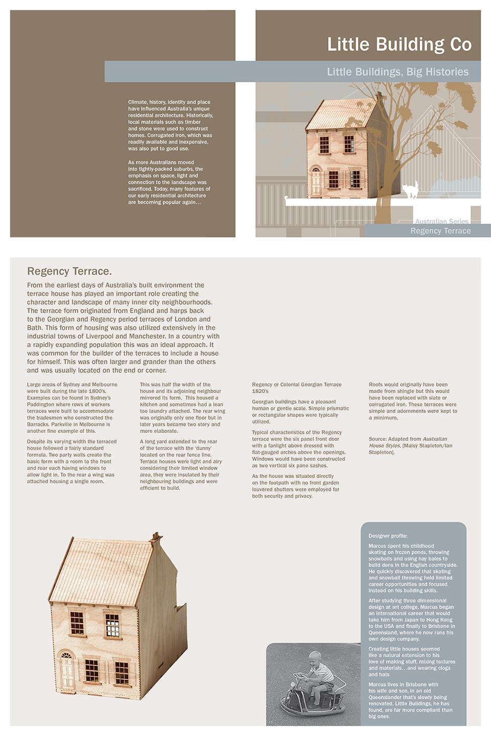 Regency Terrace Literature.