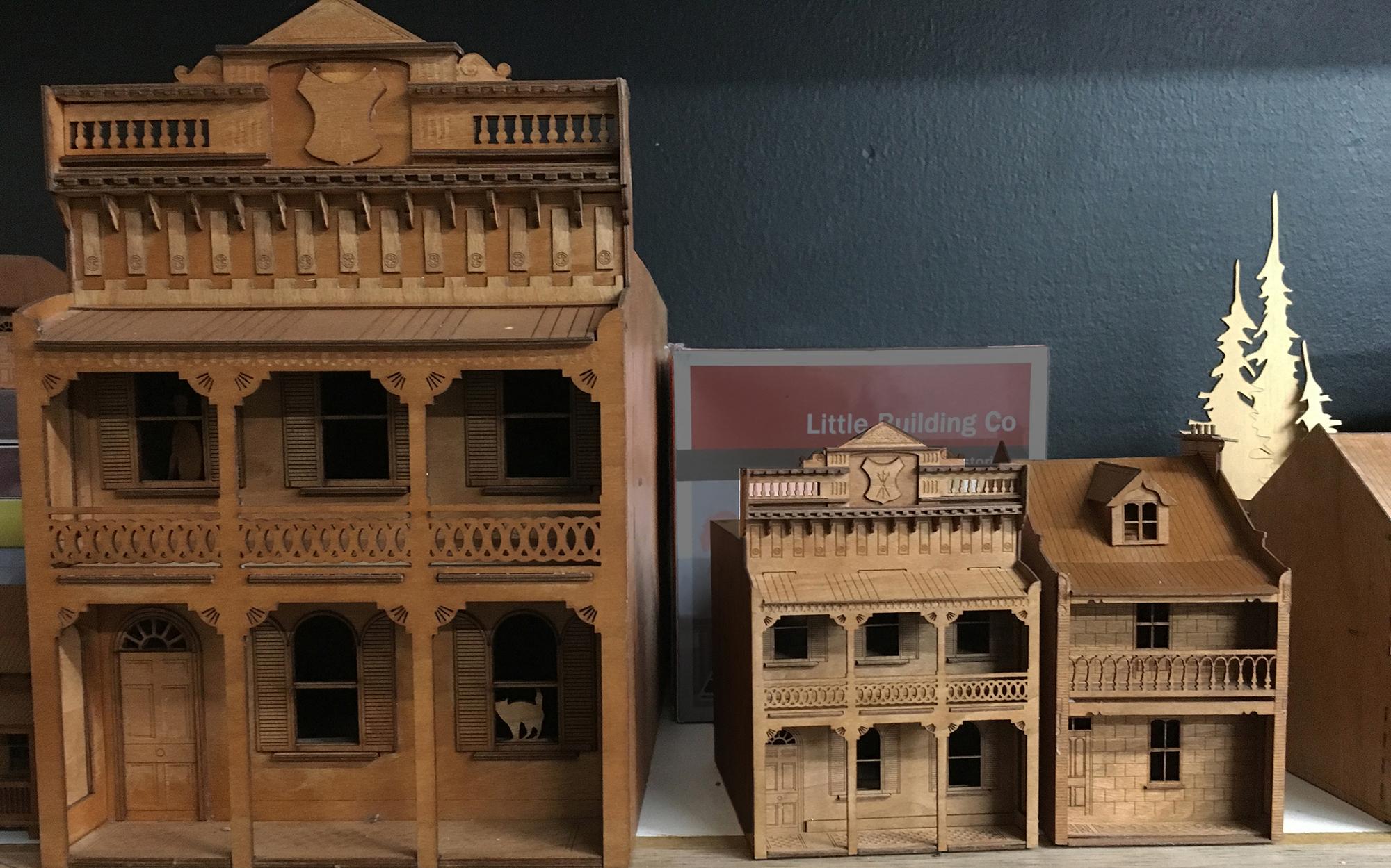 Little Building Co – Fine architectural model kits