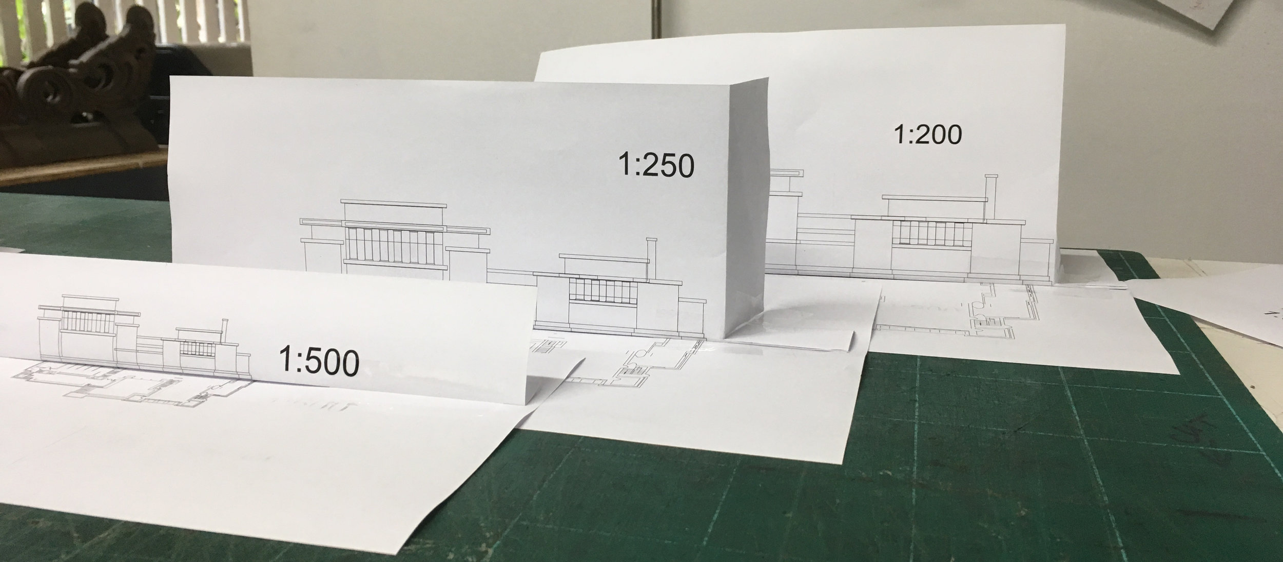Unity Temple scale comparison