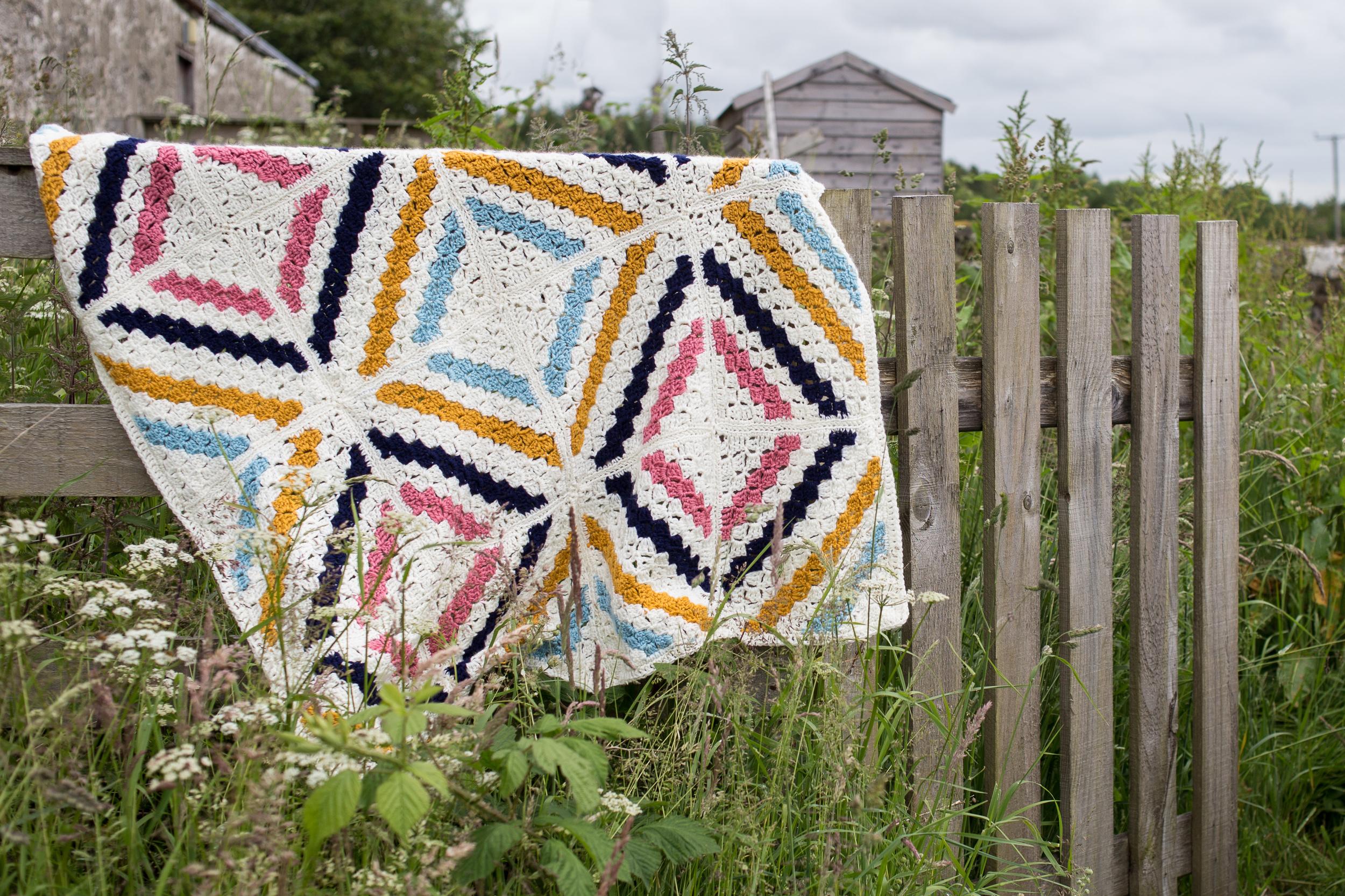 Cedar River Blanket CAL with Deramores