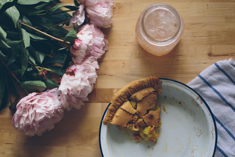 Grandma Toto's Rhubarb Pie