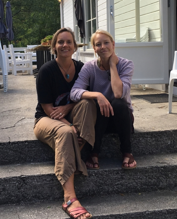 Brigitte Berg og Hedda Malde