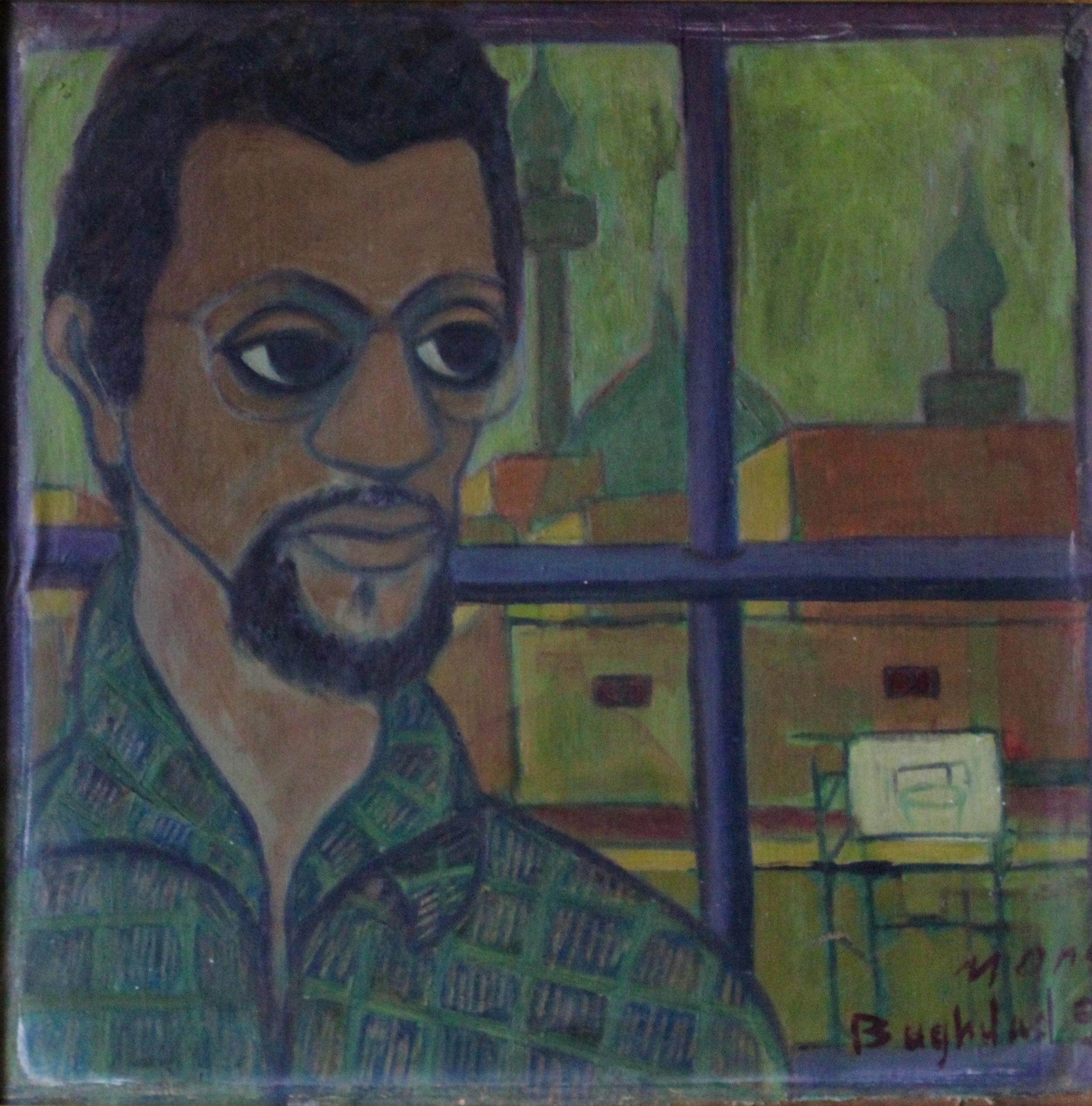 """Self Portrait - Baghdad (1)"""