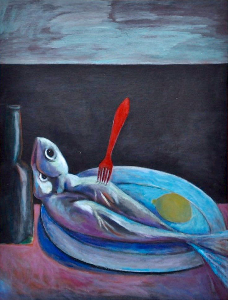 """Still Life with Fish"""