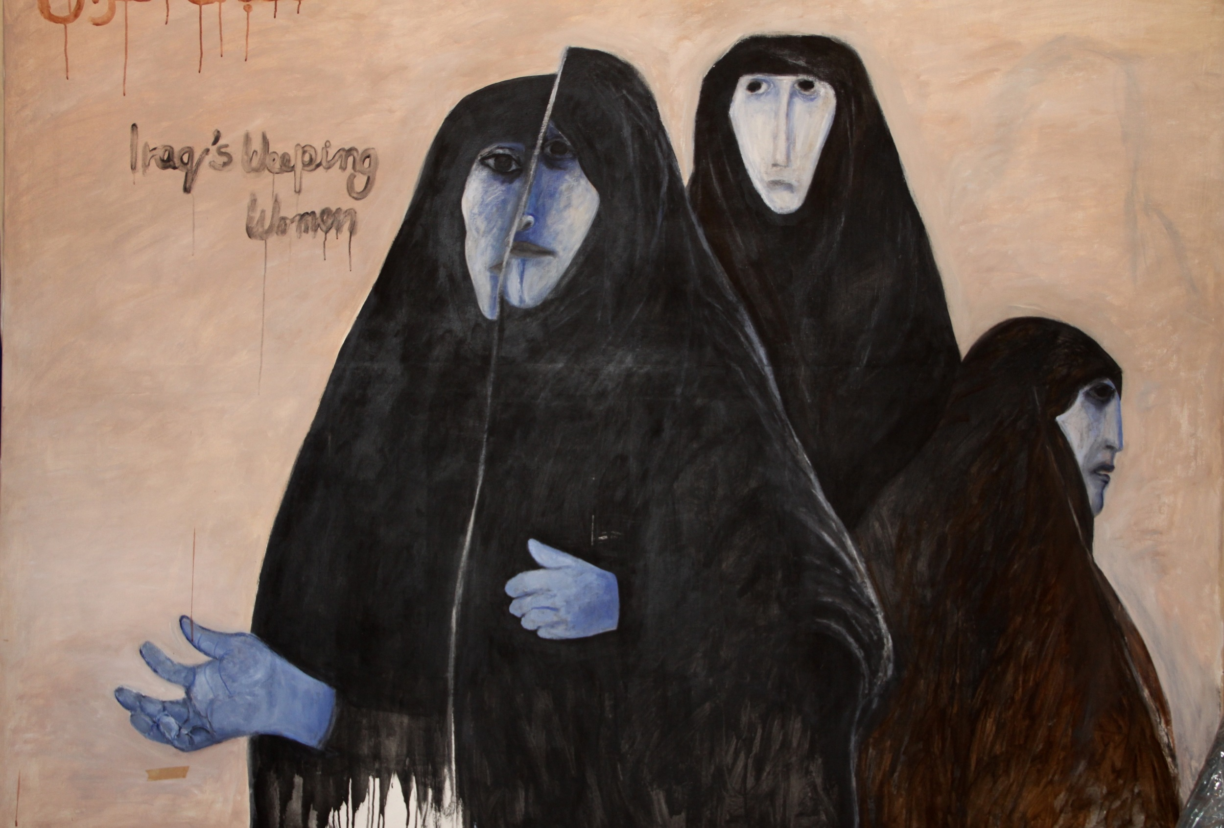 """Iraqi Weeping Women (1)"""