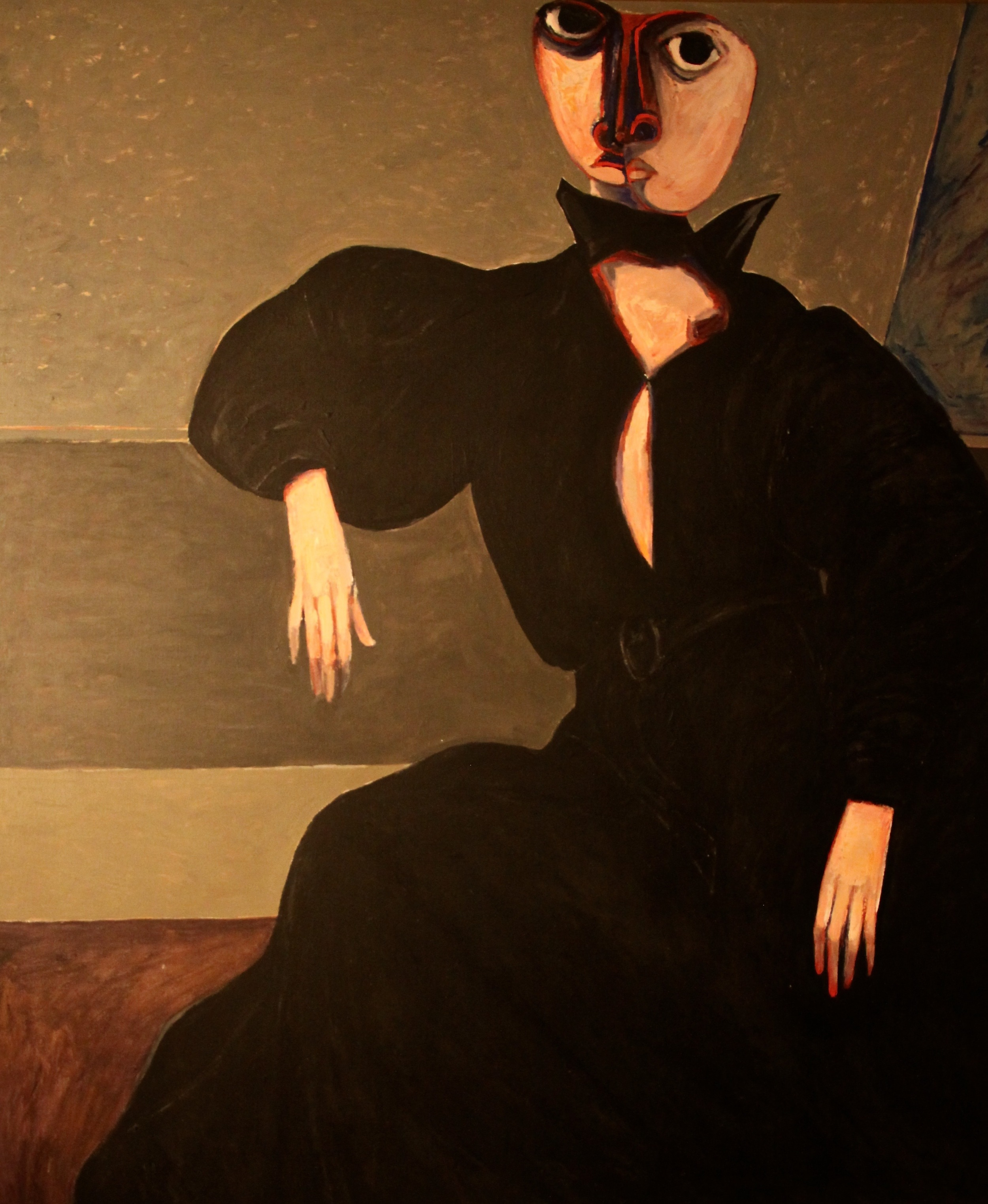 """Lady in Black Gown (2)"""