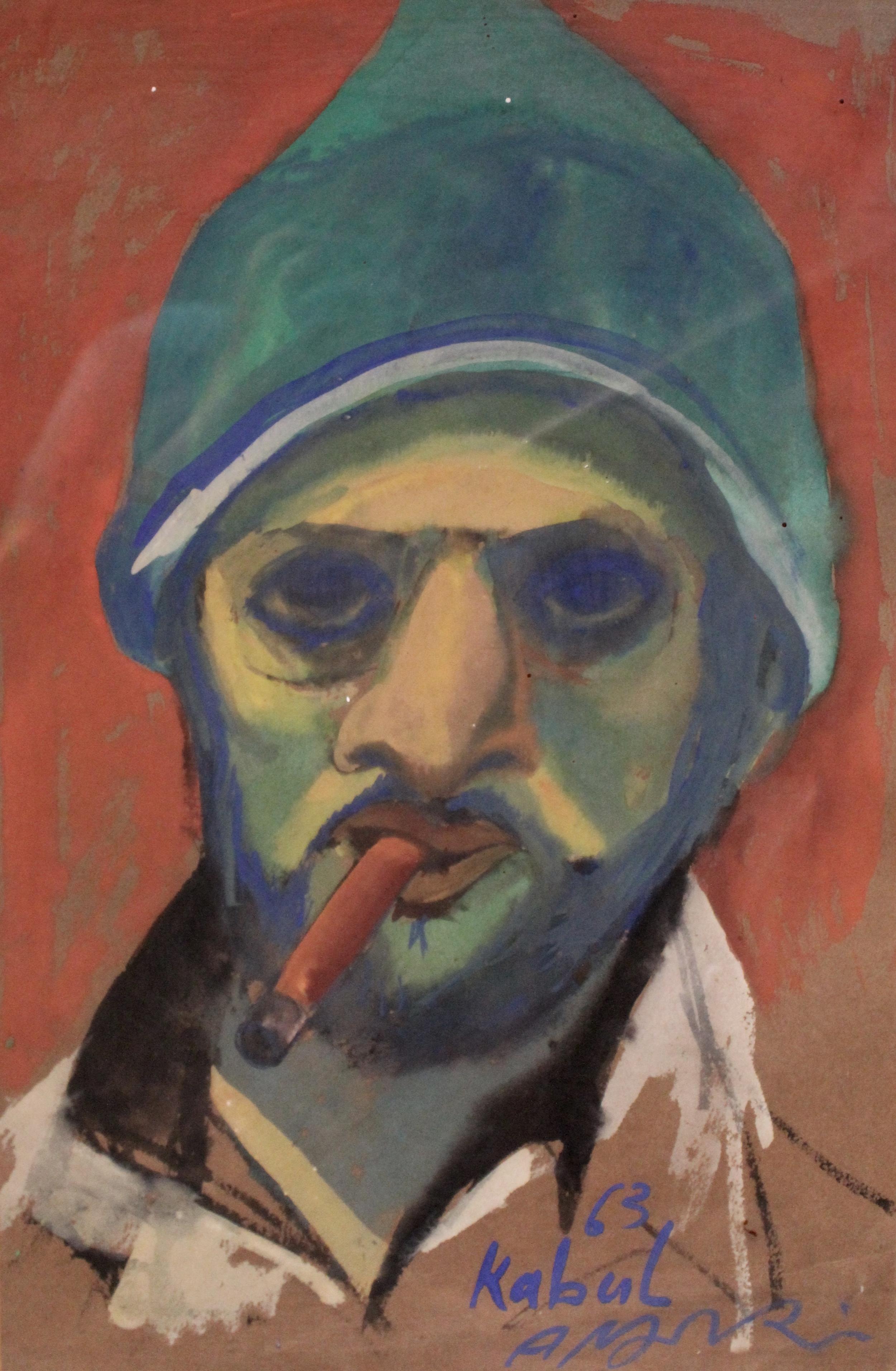 """Self Portrait - Kabul"""