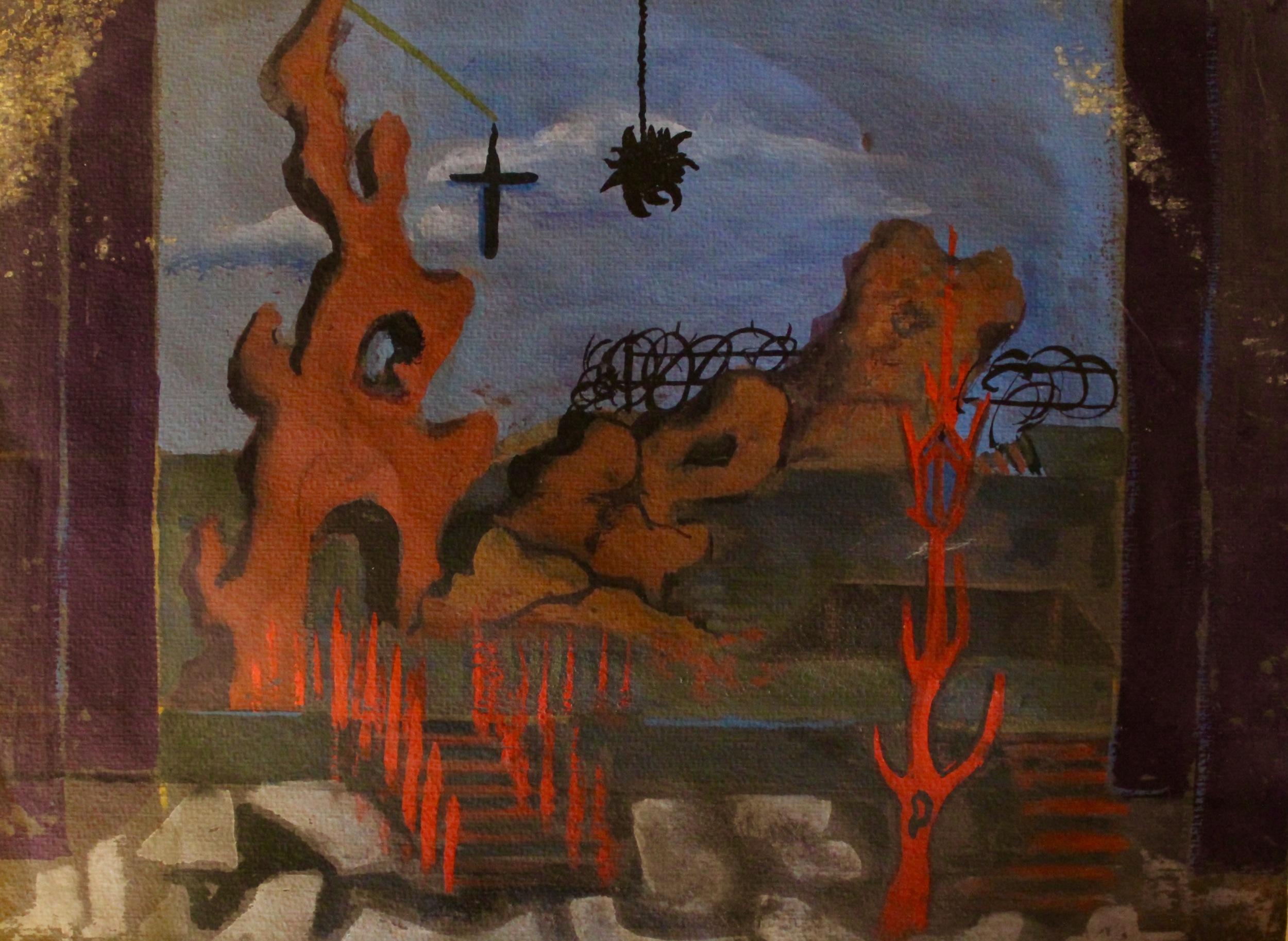 """Bury the Dead"", co-design with Al Gazzar"