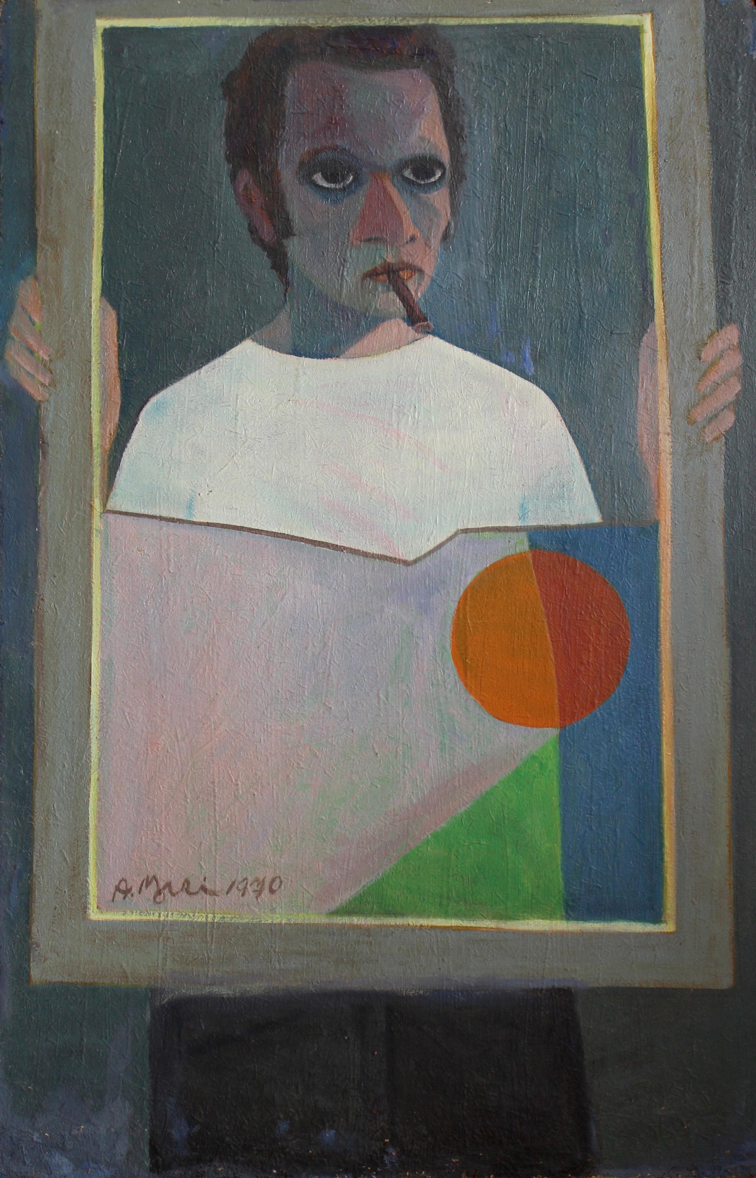 """Portrait of the Artist with a Broken Mirror"""