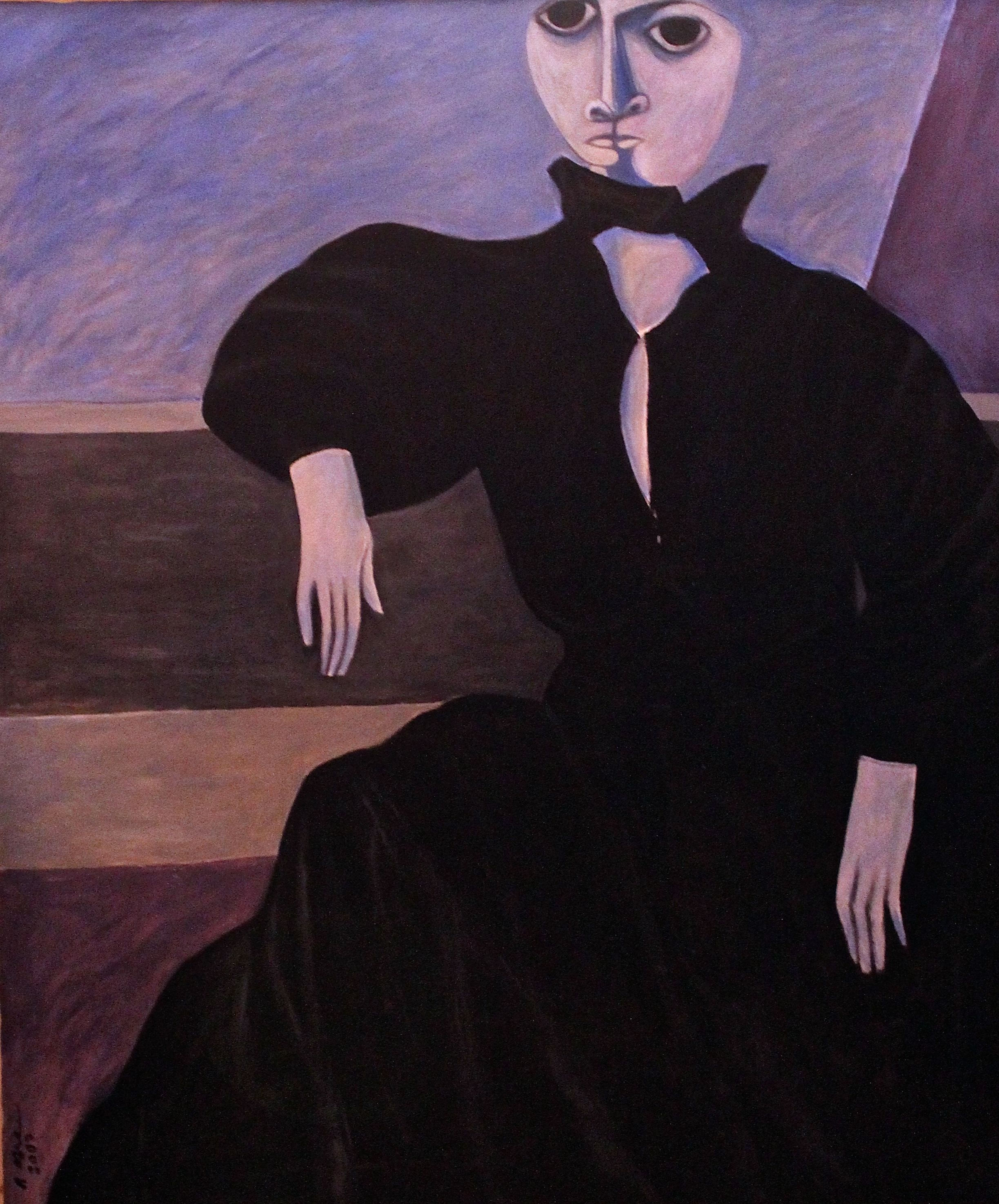 """""""Lady in Black Gown"""""""