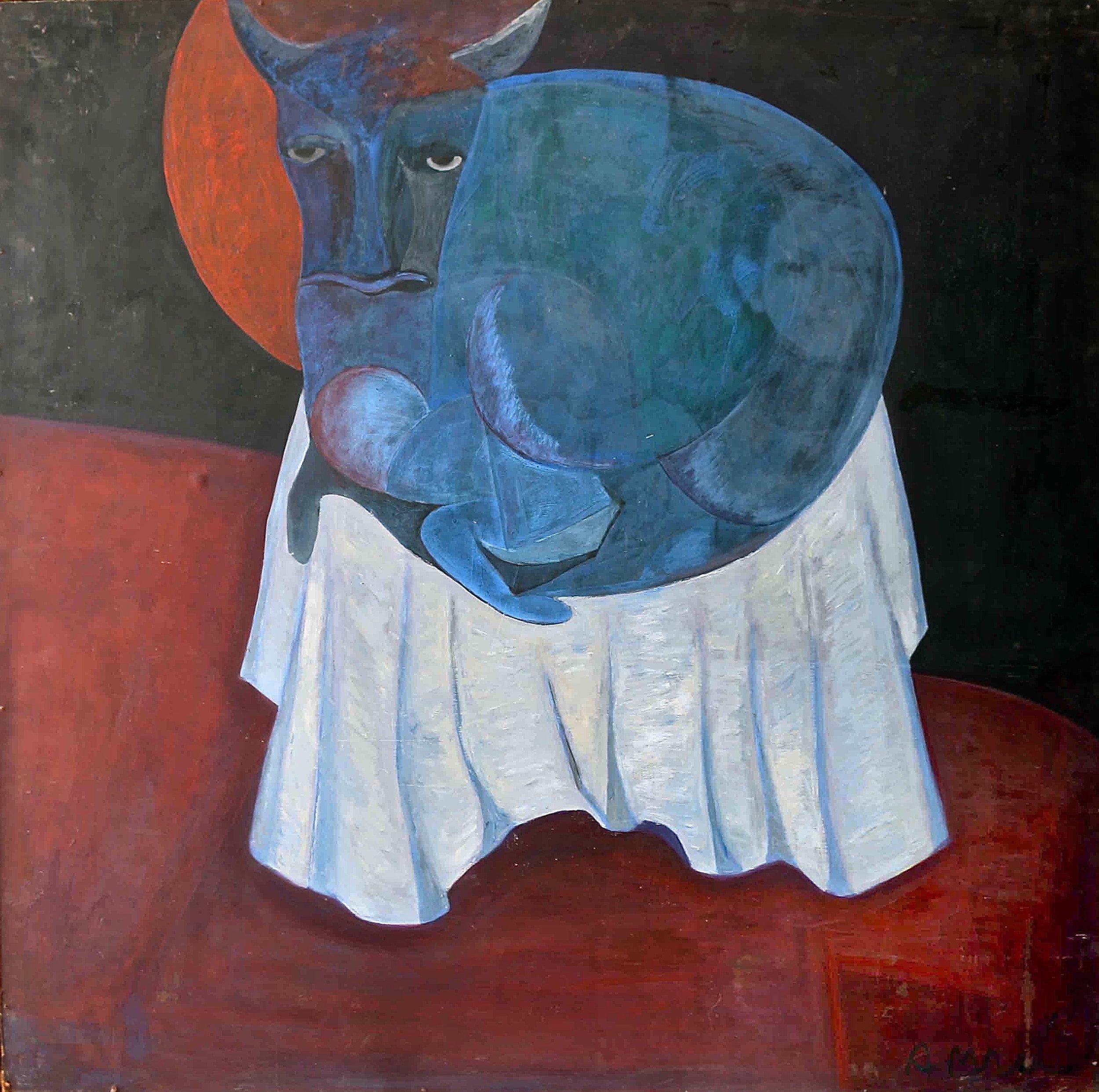 """Seated Bull"""