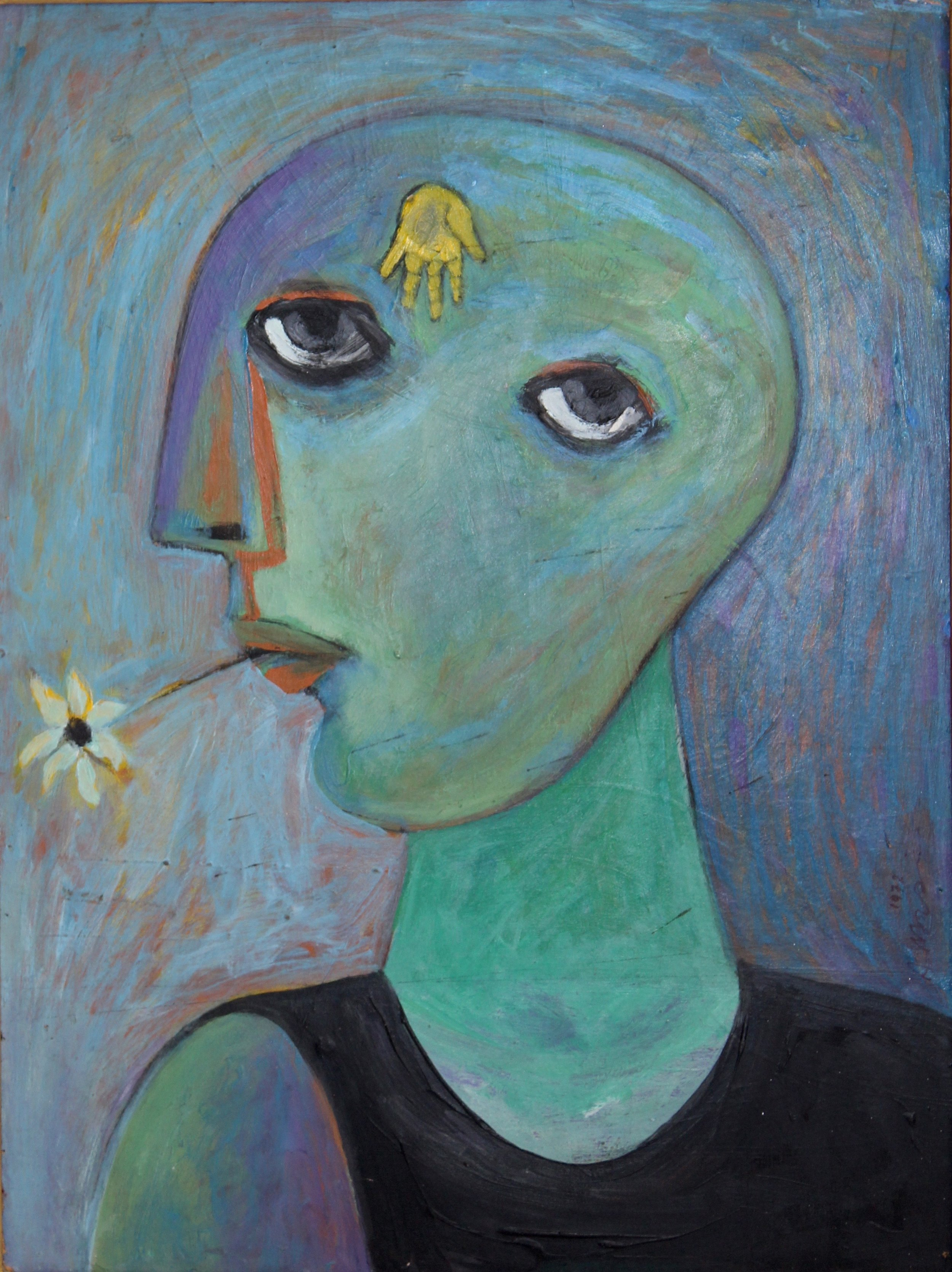 """Woman's Head"""