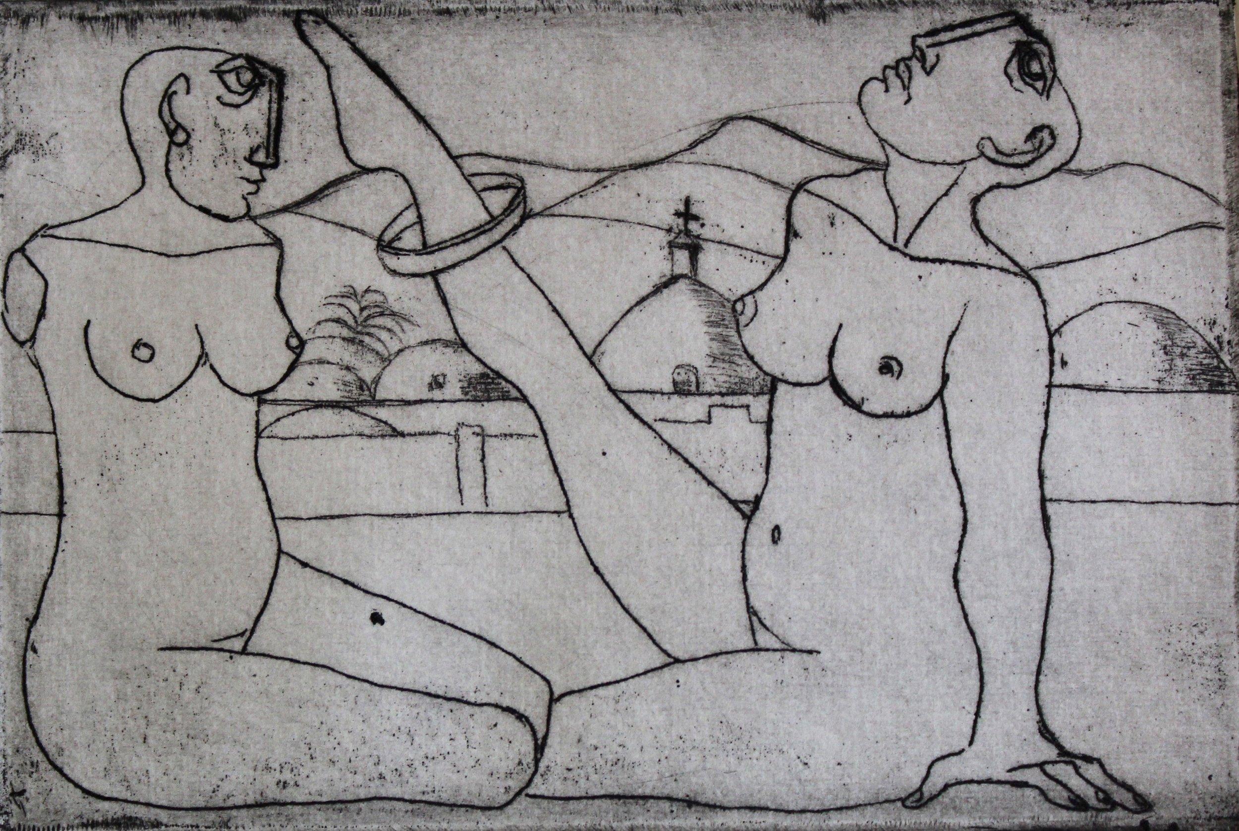 """Untitled"" (A/P) ""Edwar El Kharrat Series"" Artist's Book"