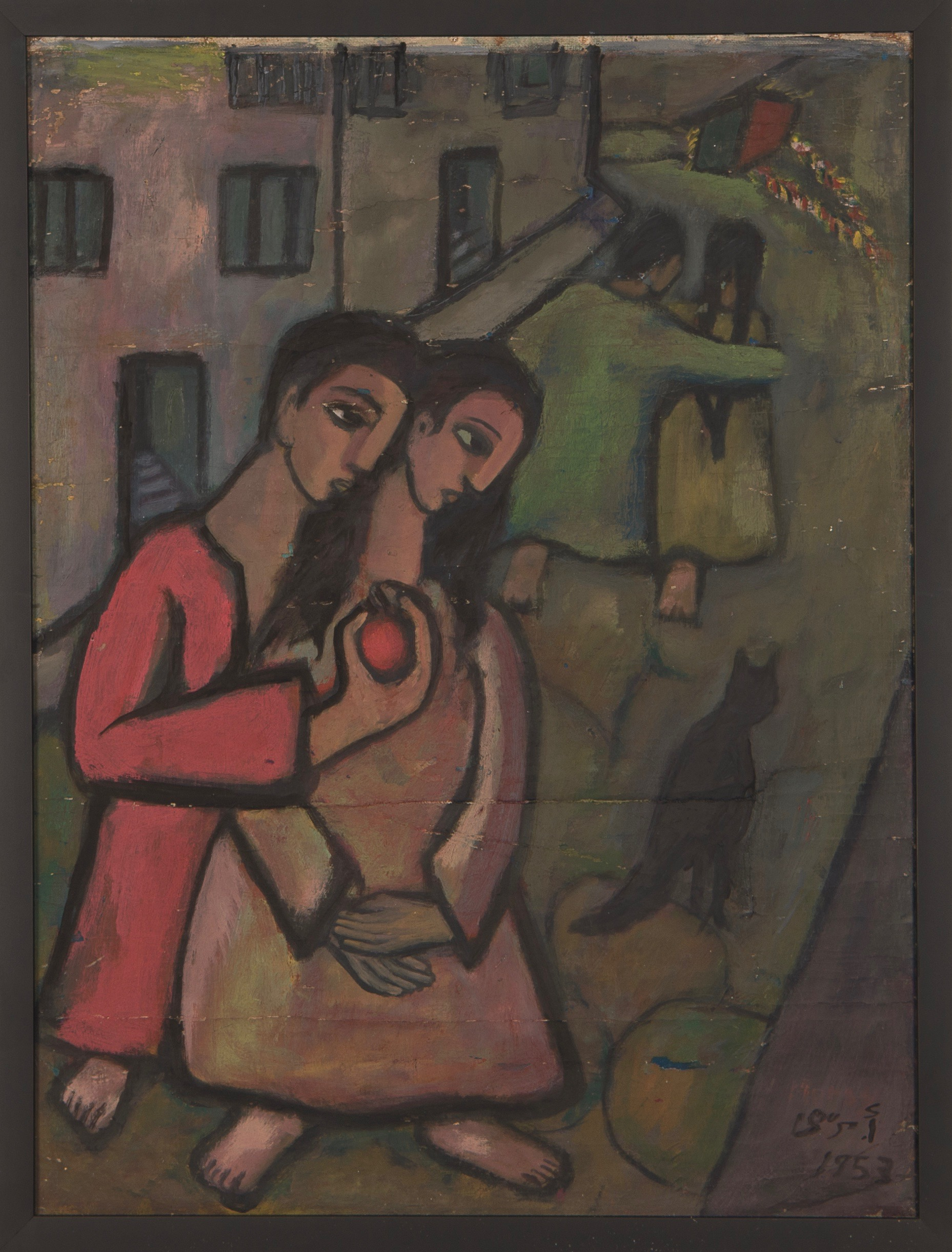 Ahmed-Morsi-Untitled-(Red-Apple)-1953.jpg