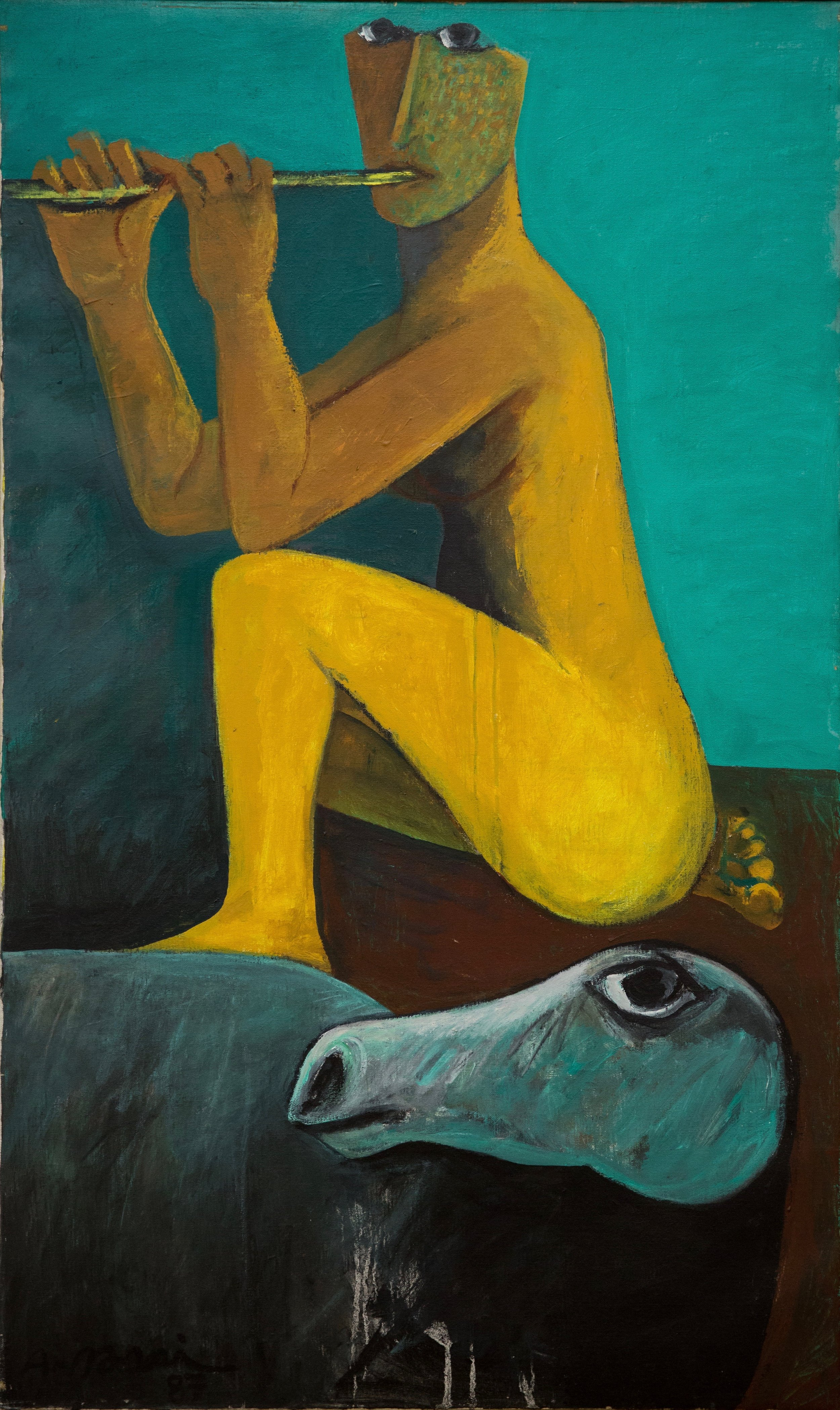 Ahmed-Morsi-Untitled-(Flute-Player)-1987.jpg