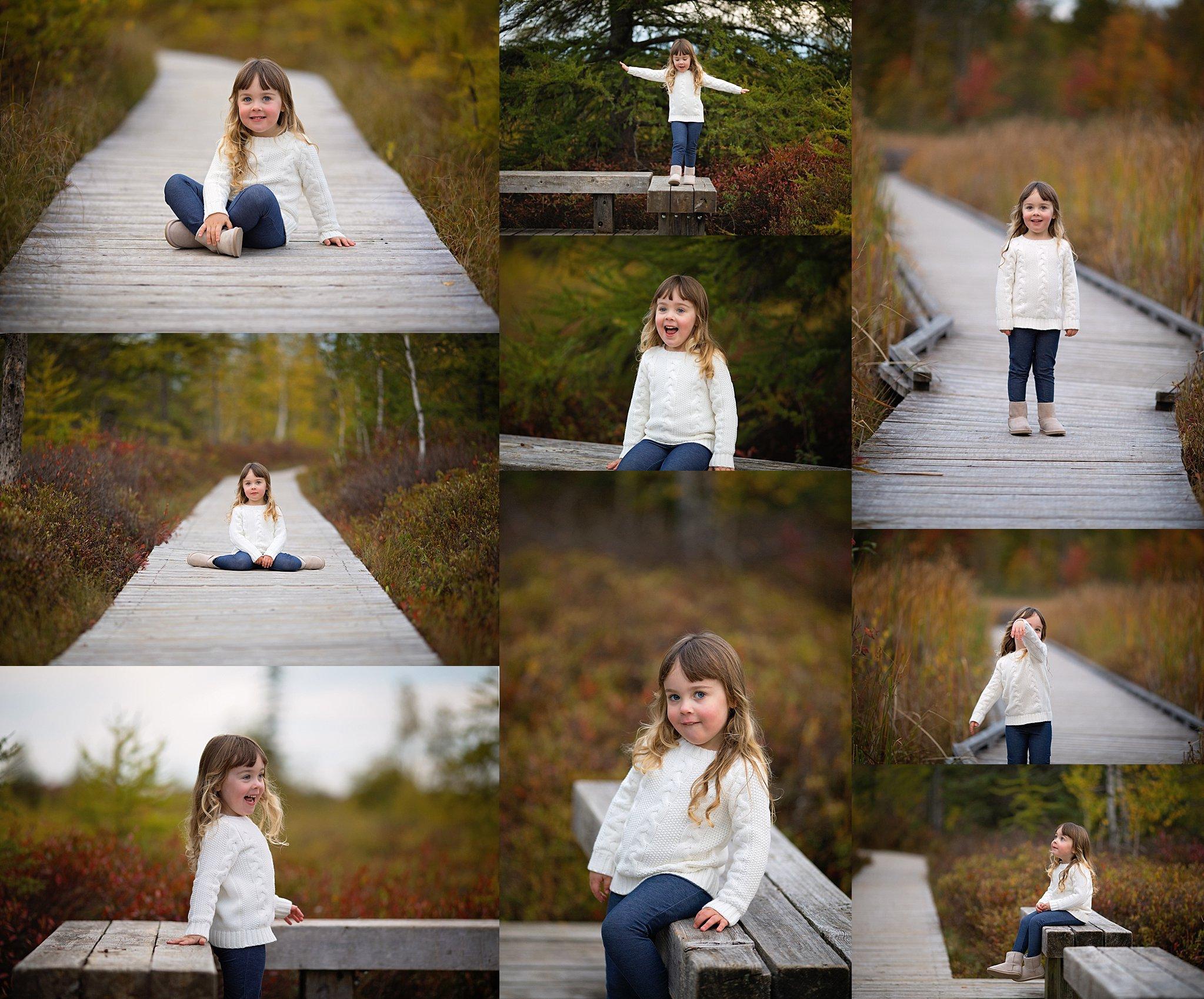 fall child photos