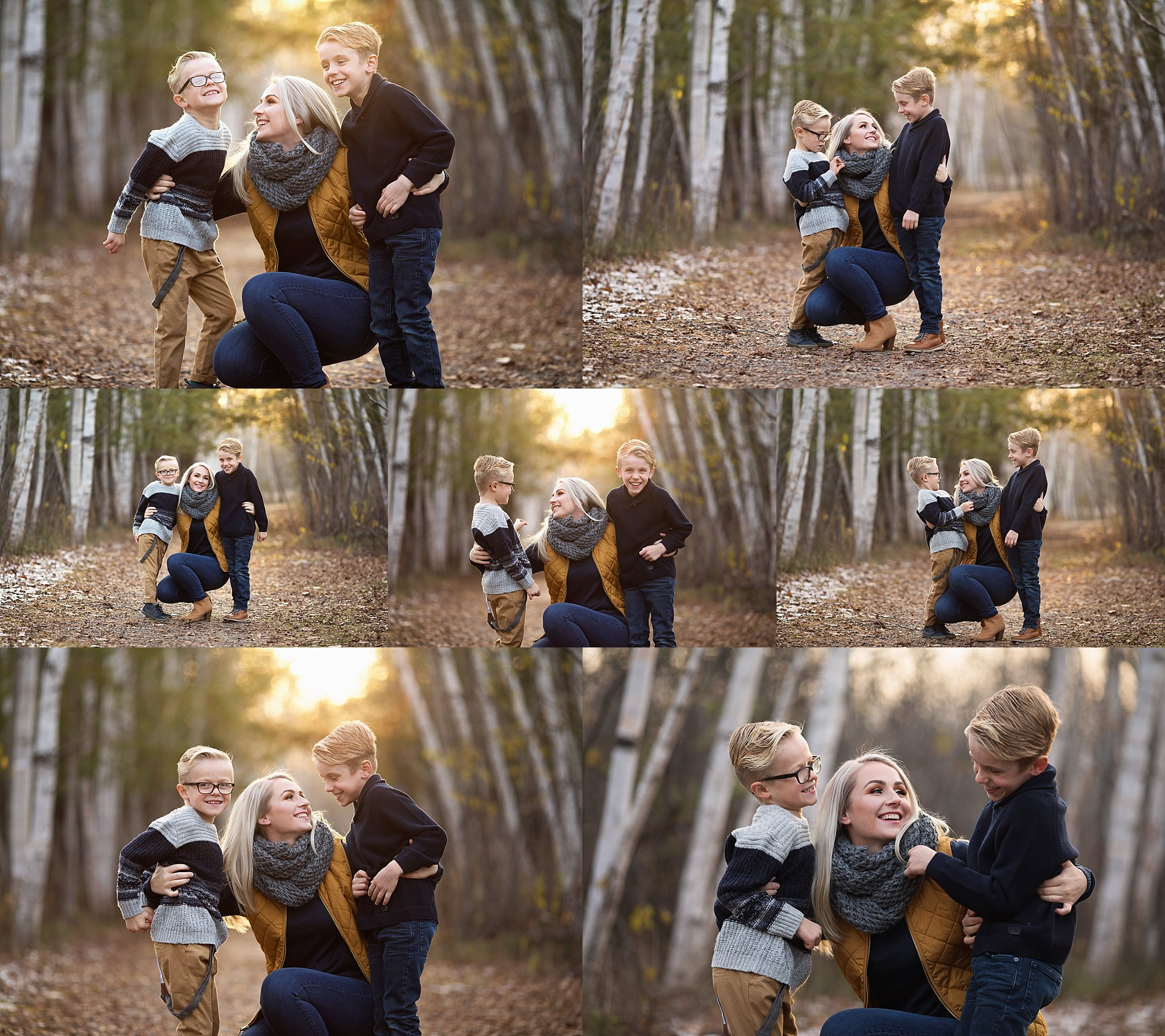 mom and sons photos