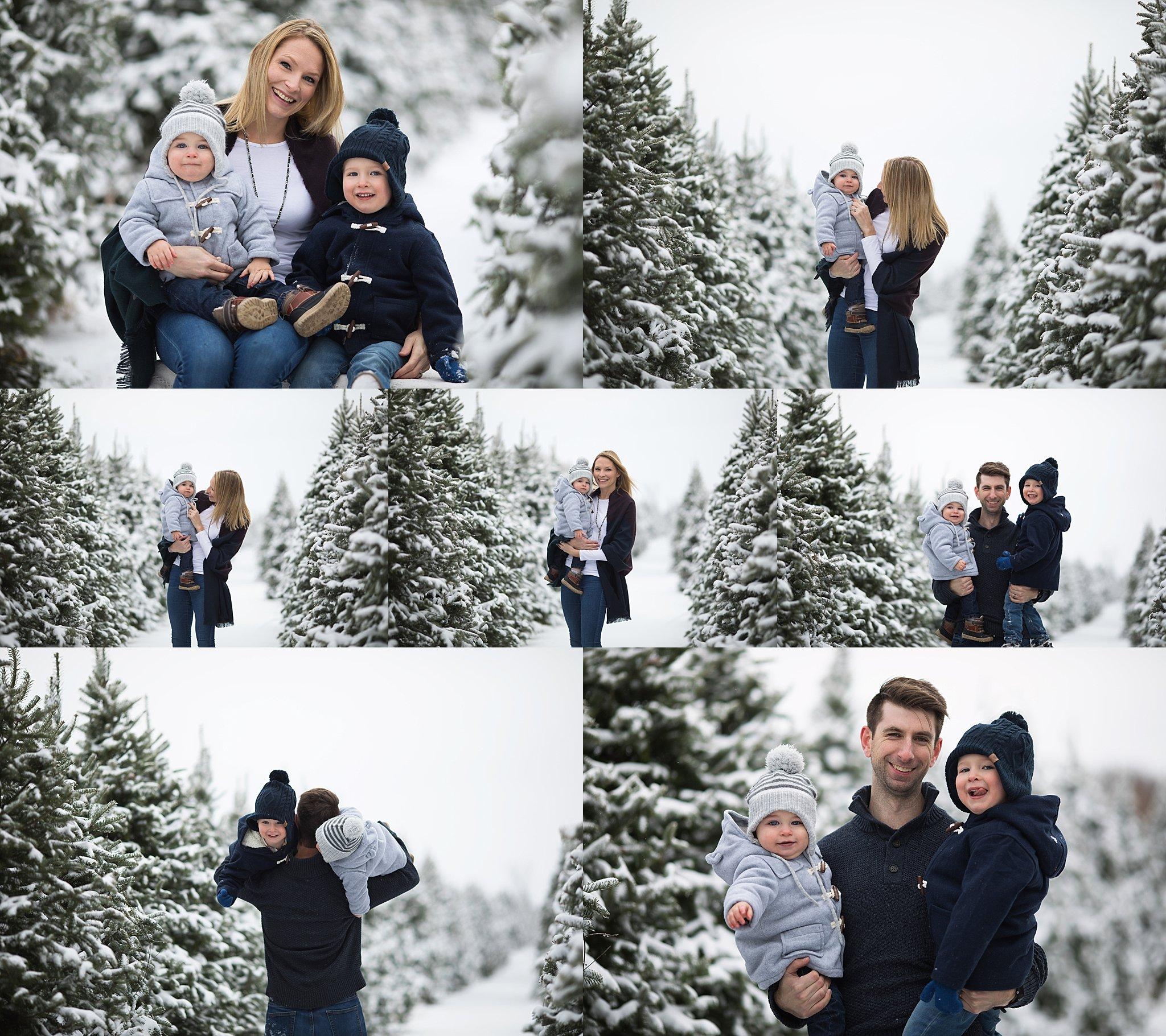 winter family photography ottawa