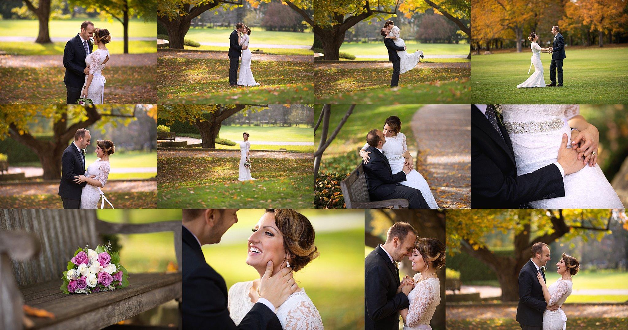 Major's Hill Park Bridal Portraits