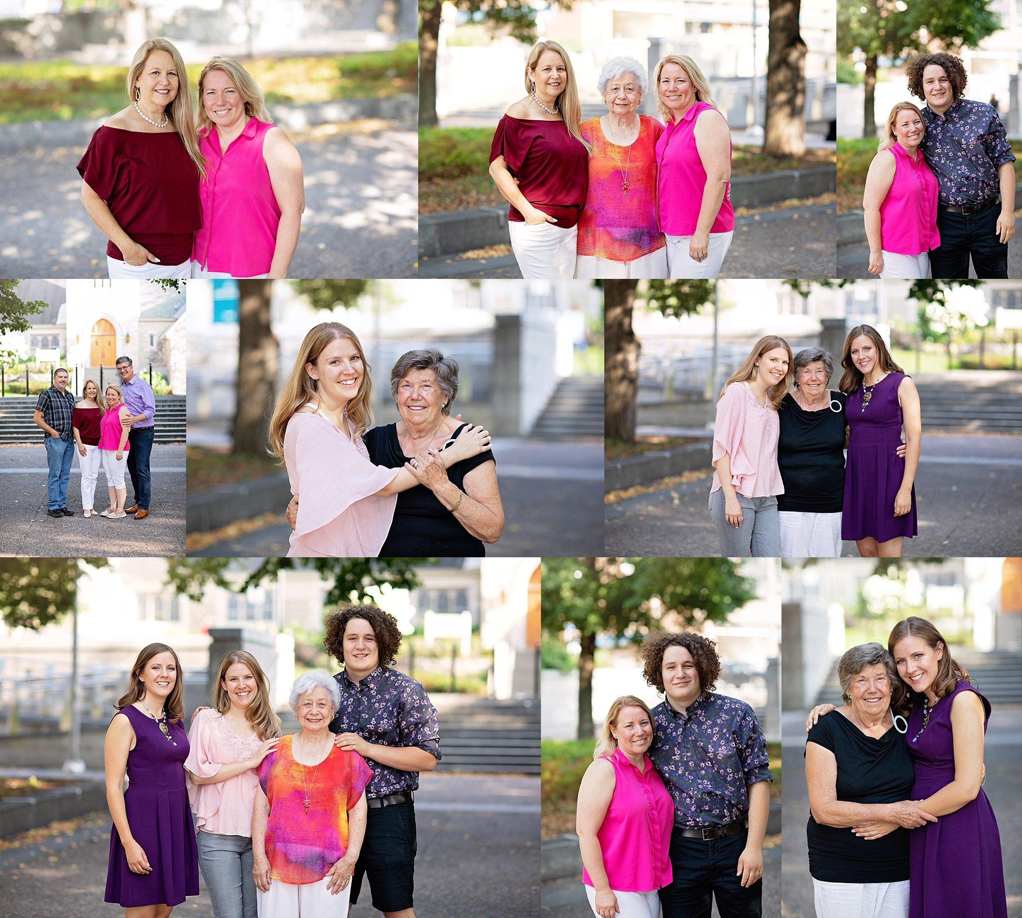 Extended Family Portraits Ottawa