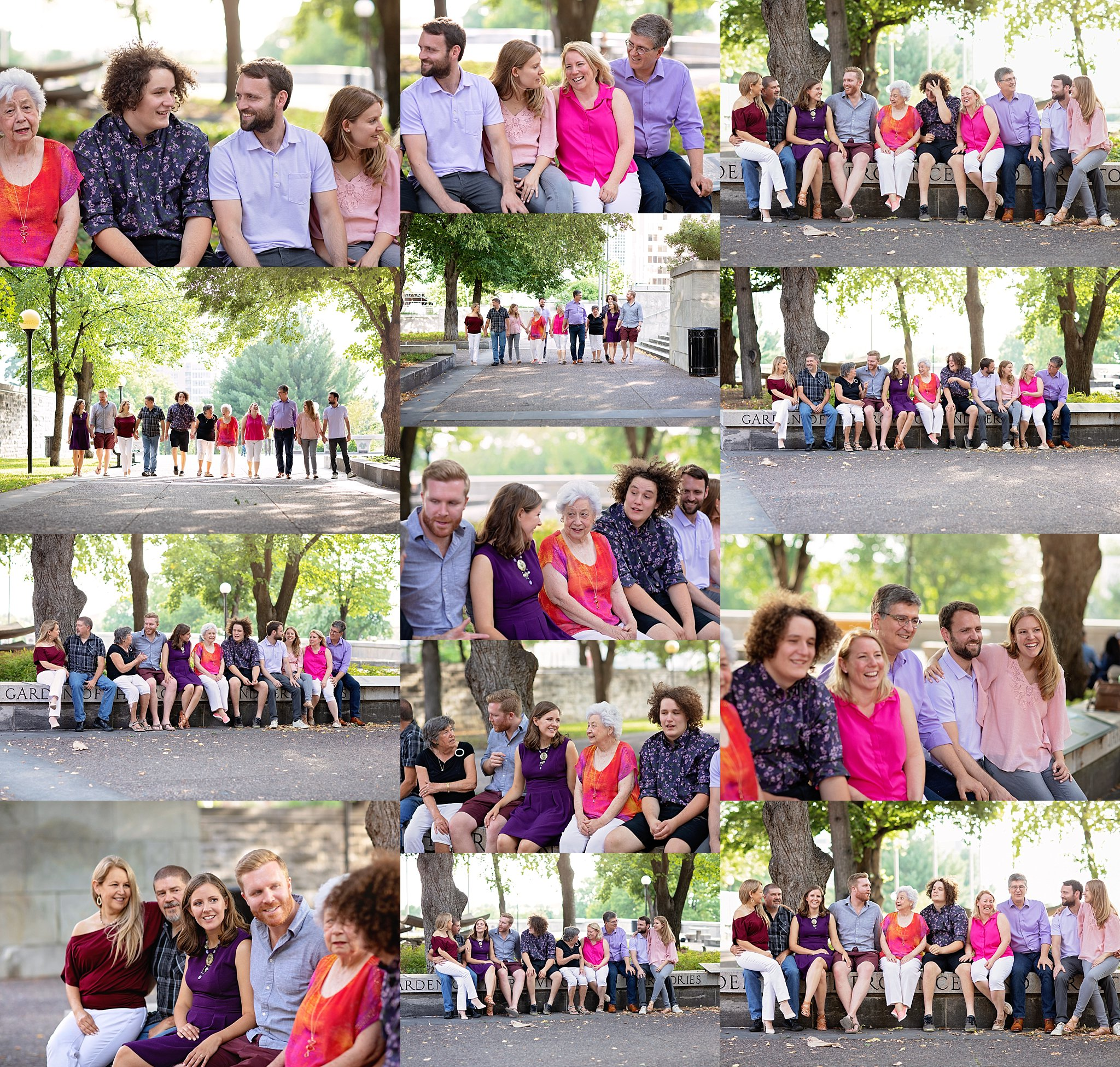 Extended Family Portraits Michelle Ma Belle Photography