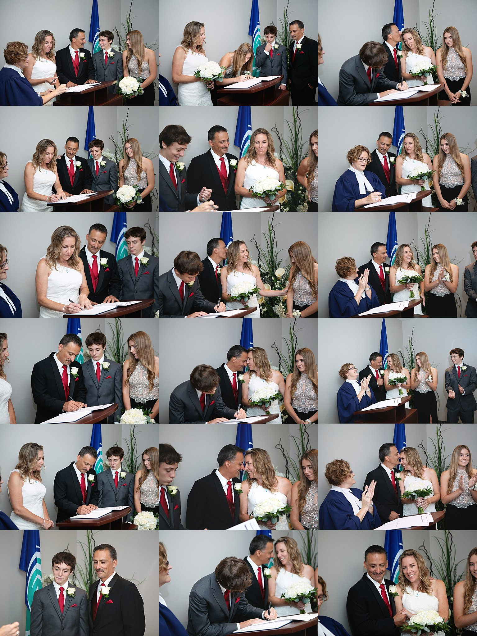 City Hall Wedding Ceremony Ottawa