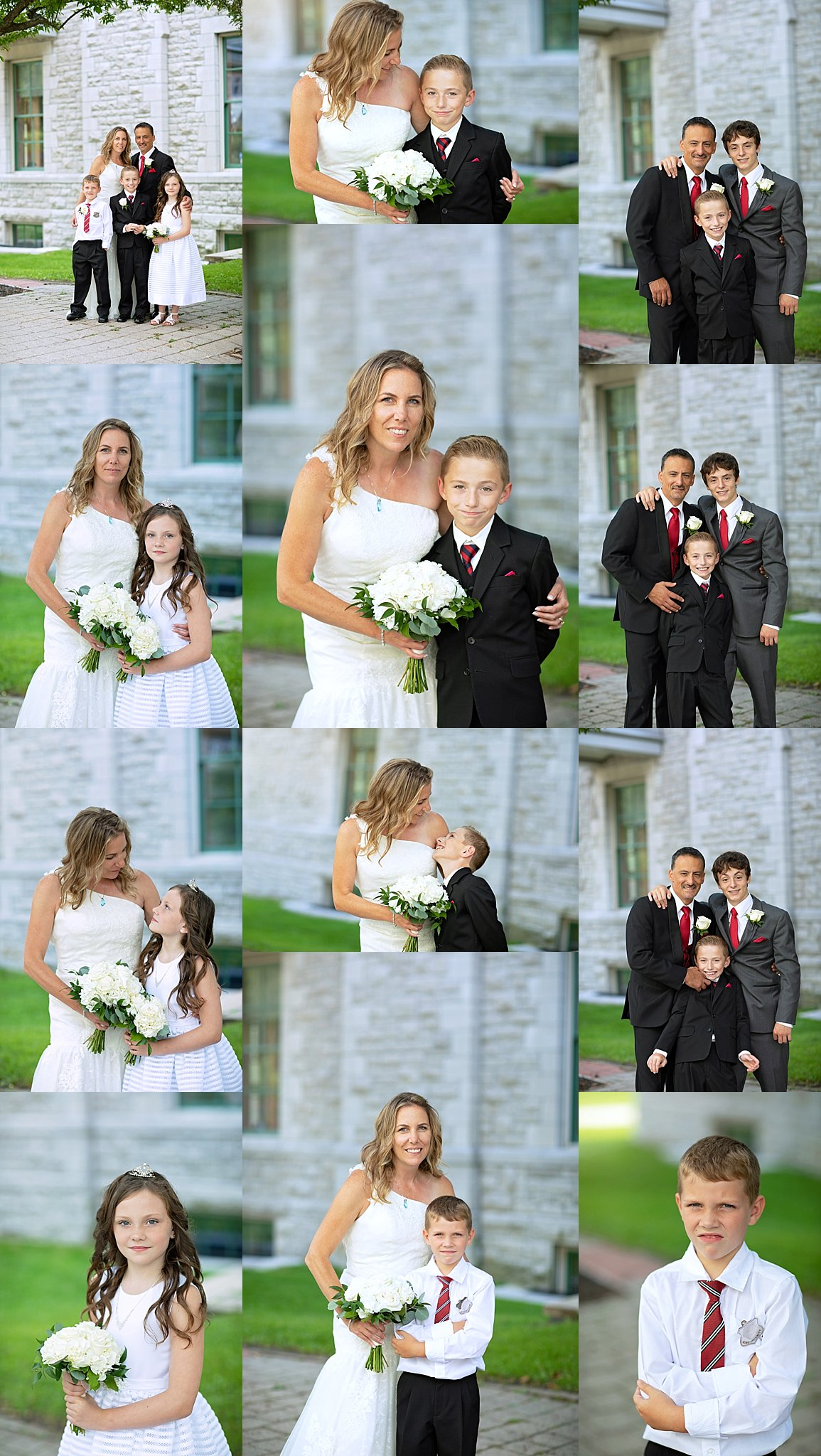 Family Portraits Wedding