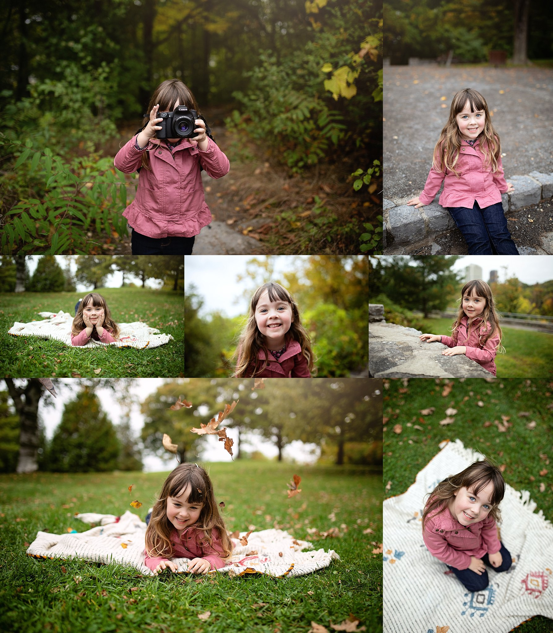 Fall Mini Session Hogs Back park