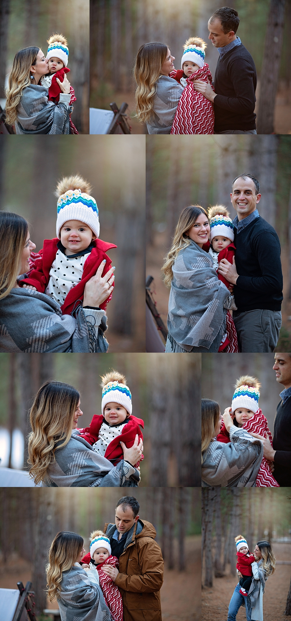 Outdoor Holiday Themed Photo Session