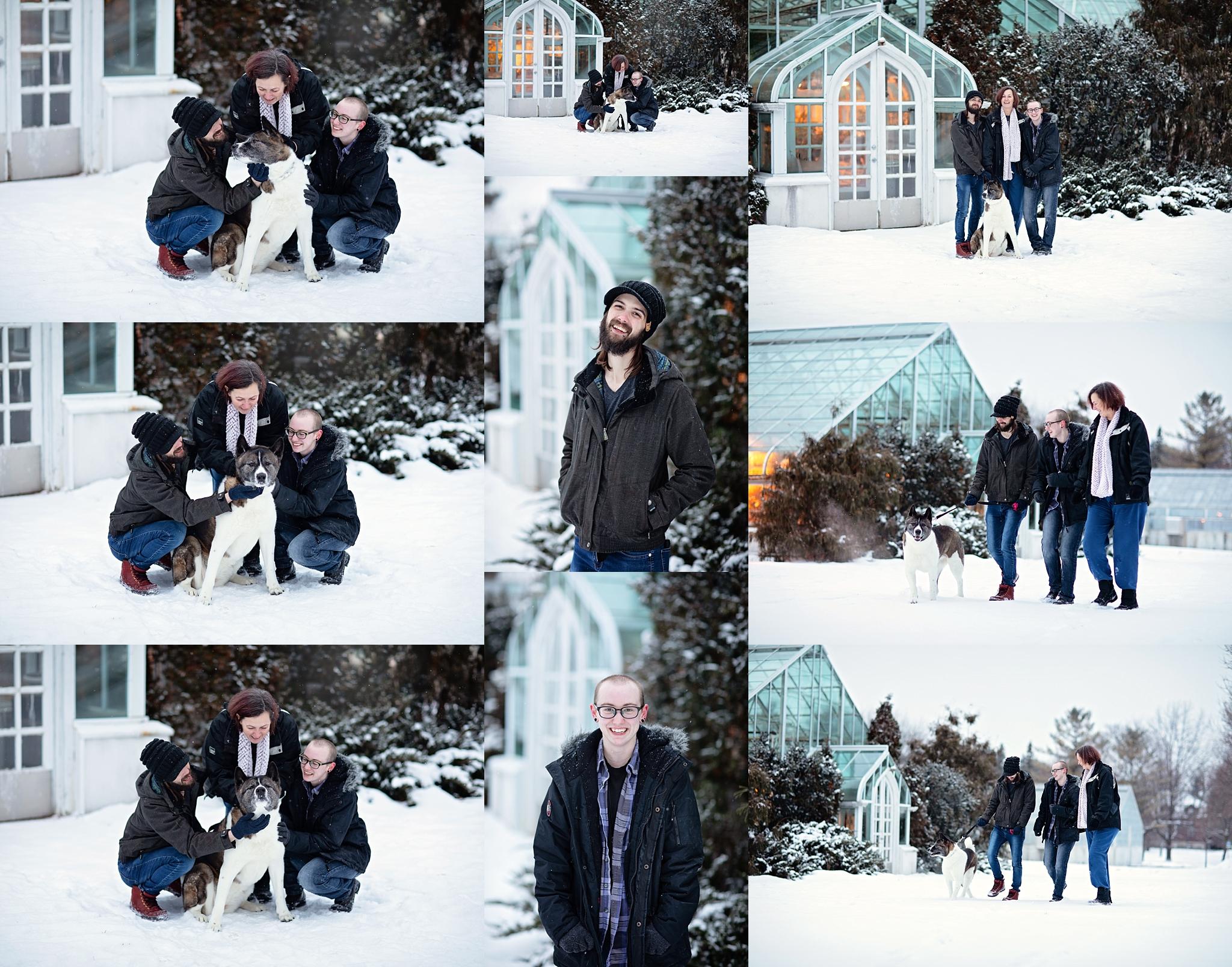 winter family photos ottawa
