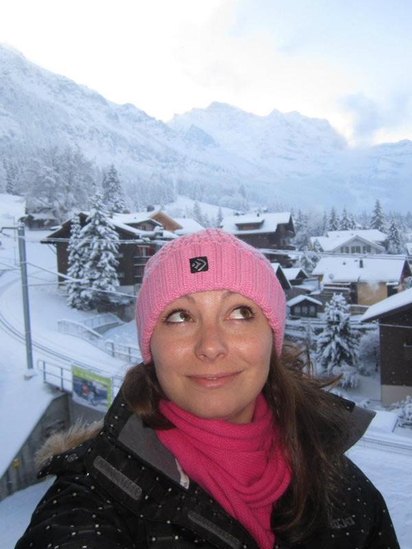 Me & My Pump go skiing