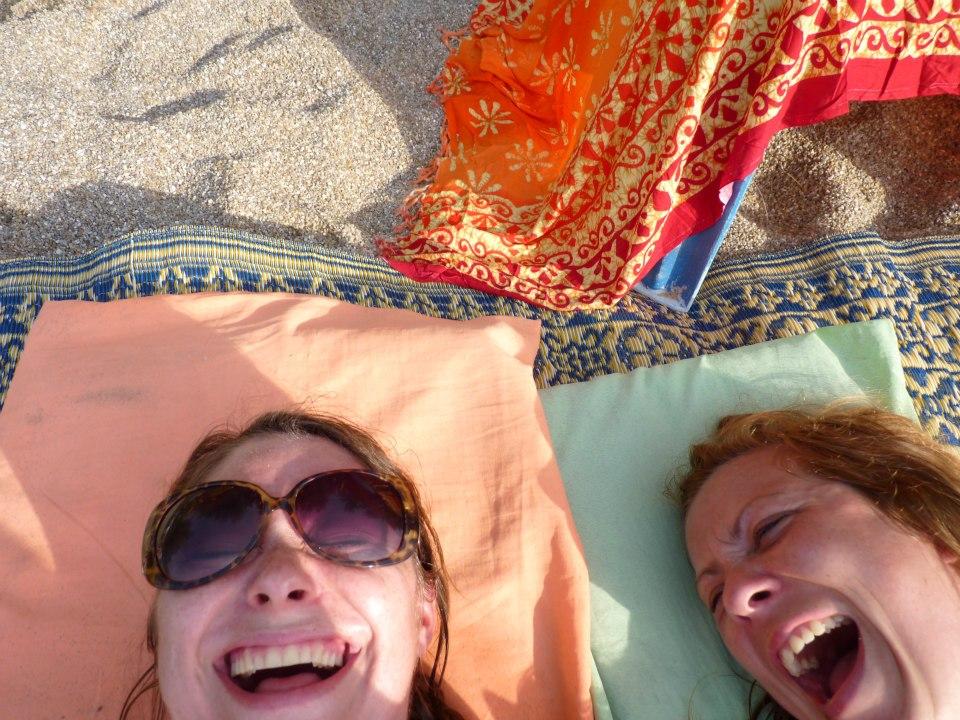 Me & My Pump on a beach in Thailand