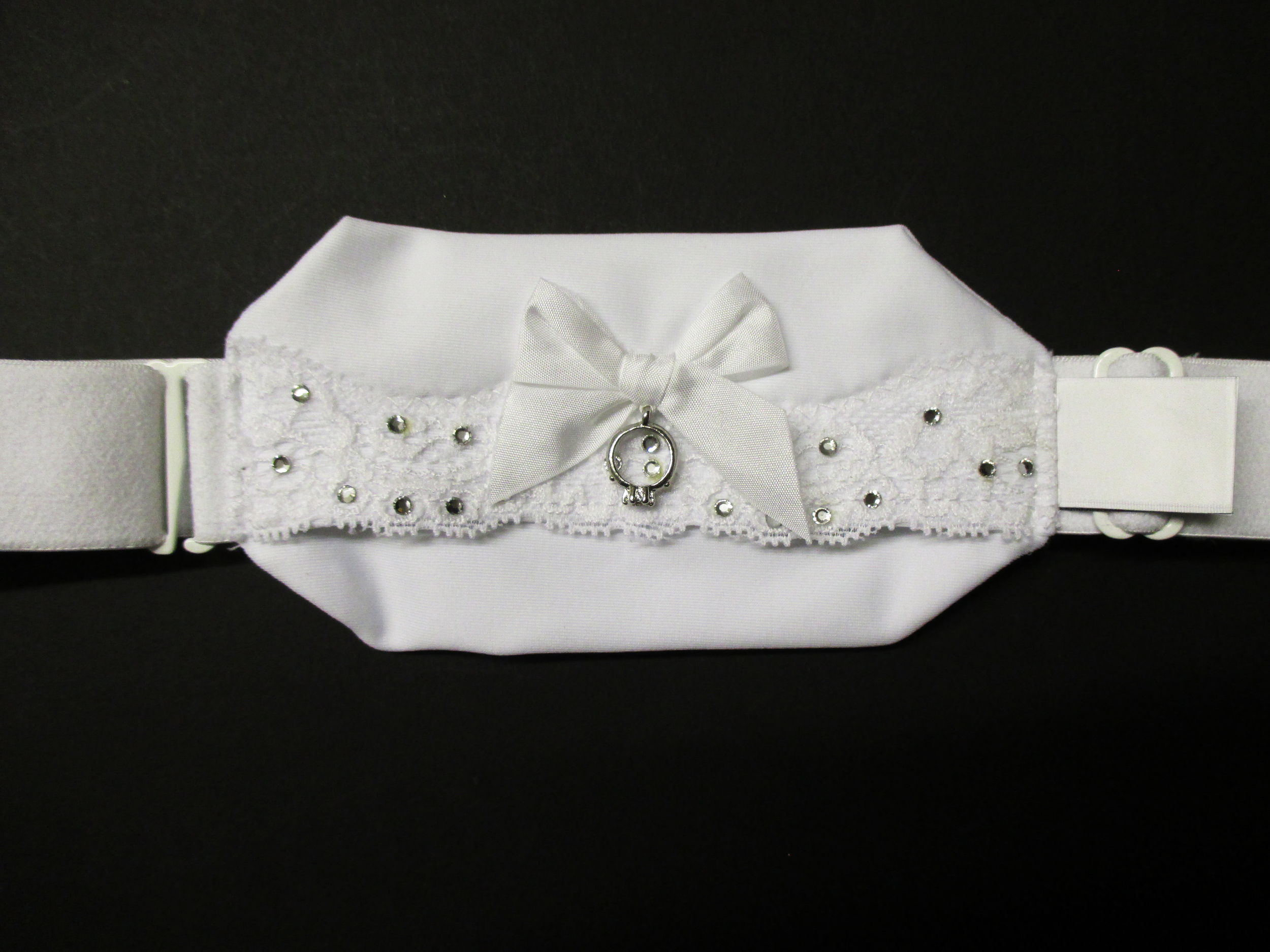 Hid-In Custom Made Bridal Multiway Body Band with crystals