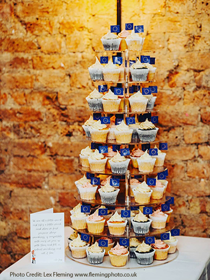 Cupcake Tower  Hire £30  Deposit £90  Holds up to 150 cupcakes