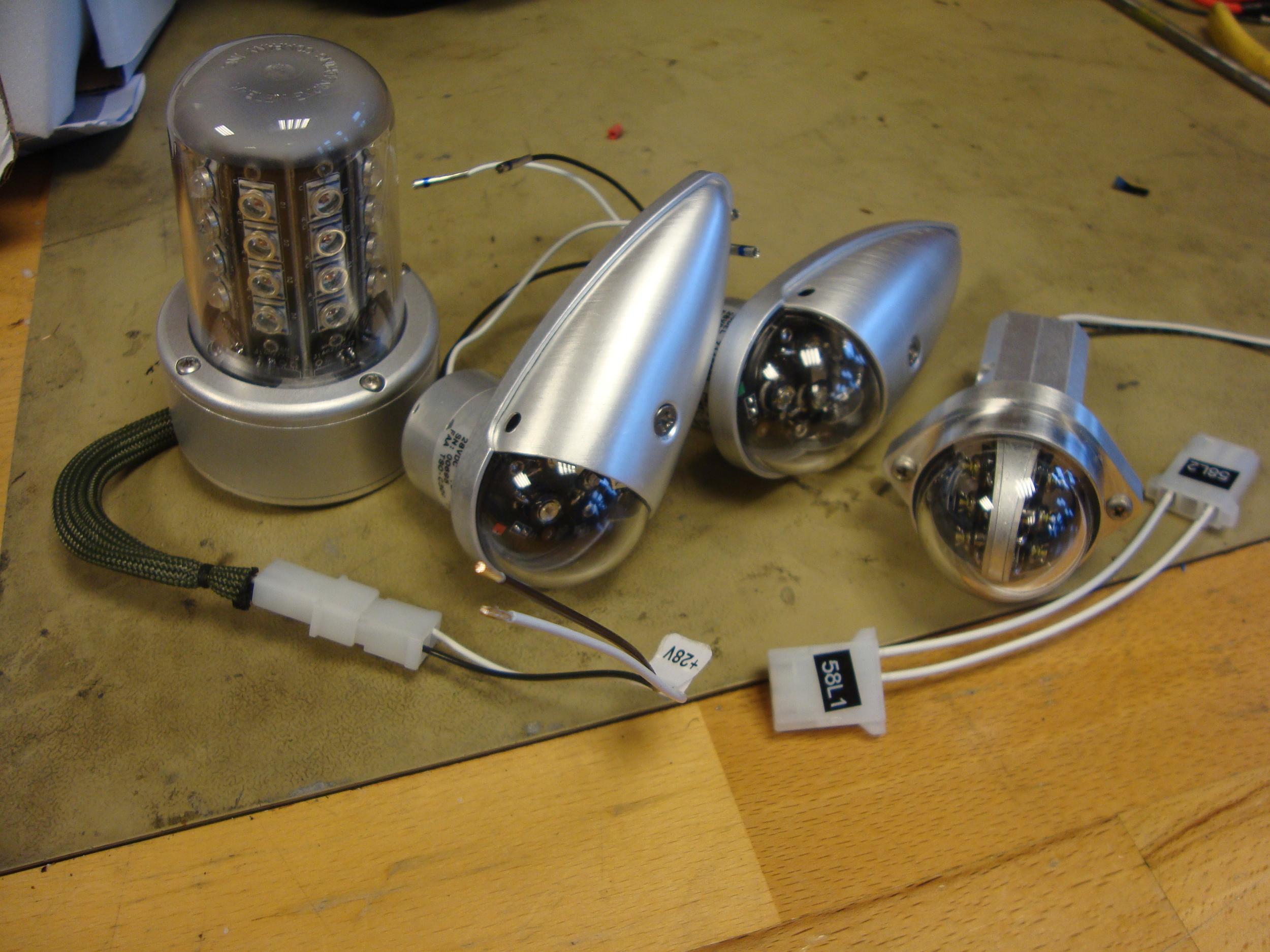 External NVIS Led Lights