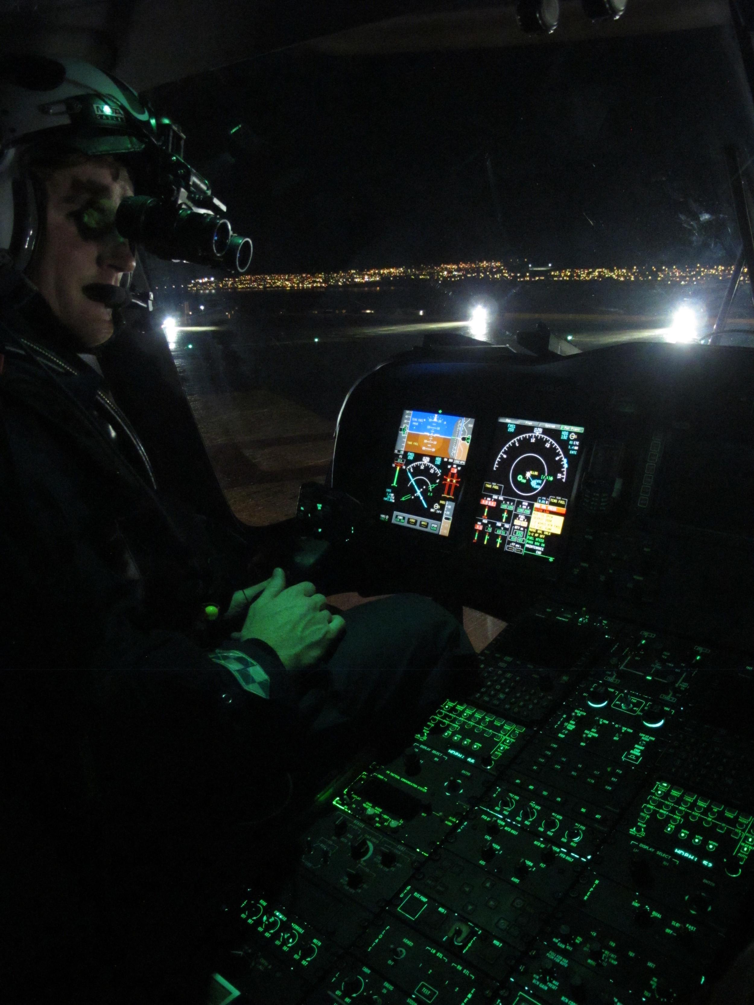 NVIS Cockpit lighting