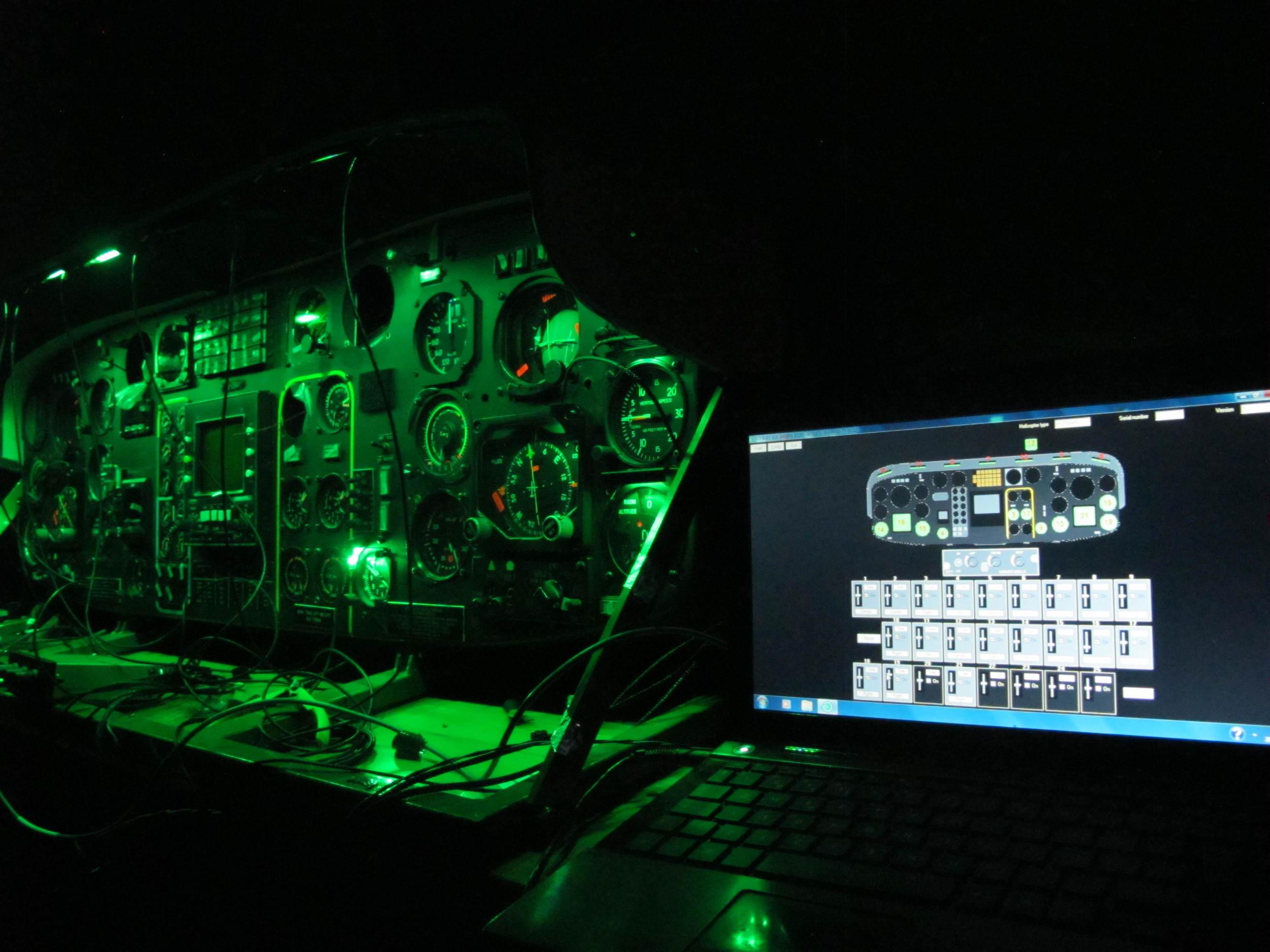 Cockpit lighting harmonization