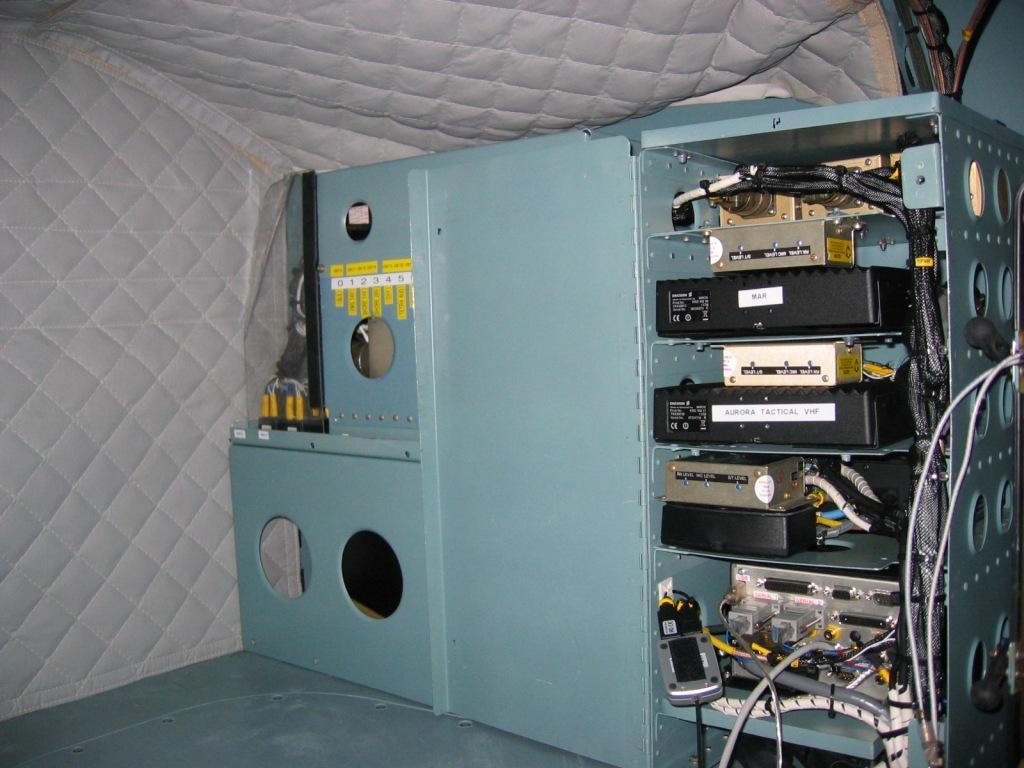 EMS Radio Rack
