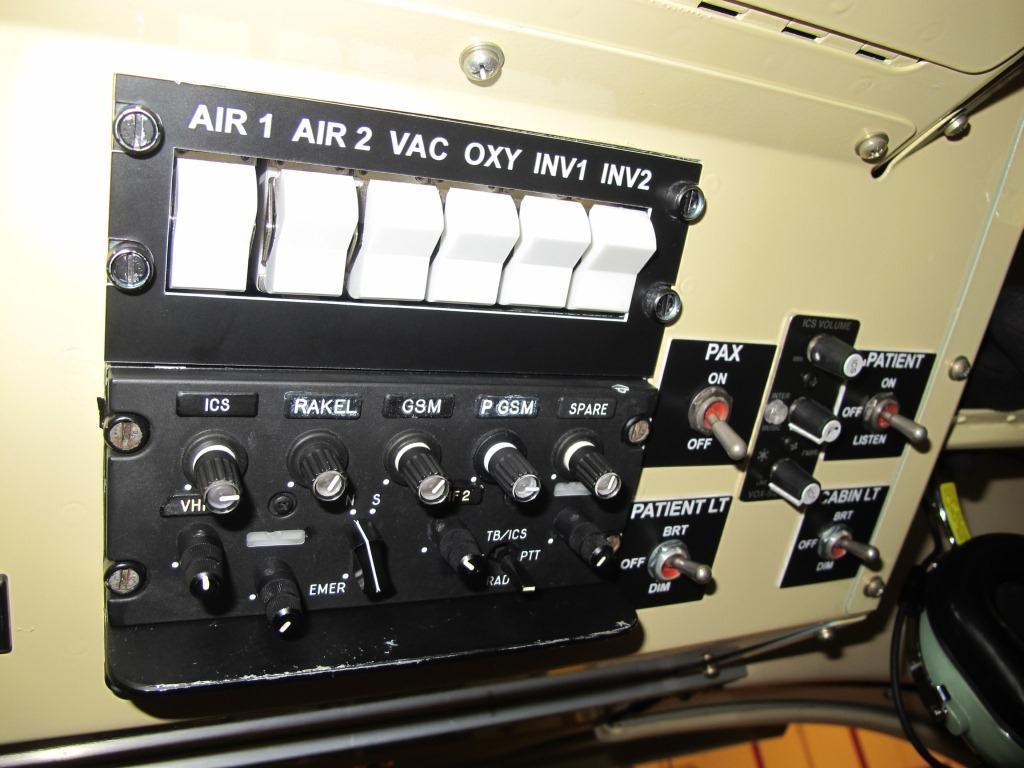 Air/Oxygen and ICS panels