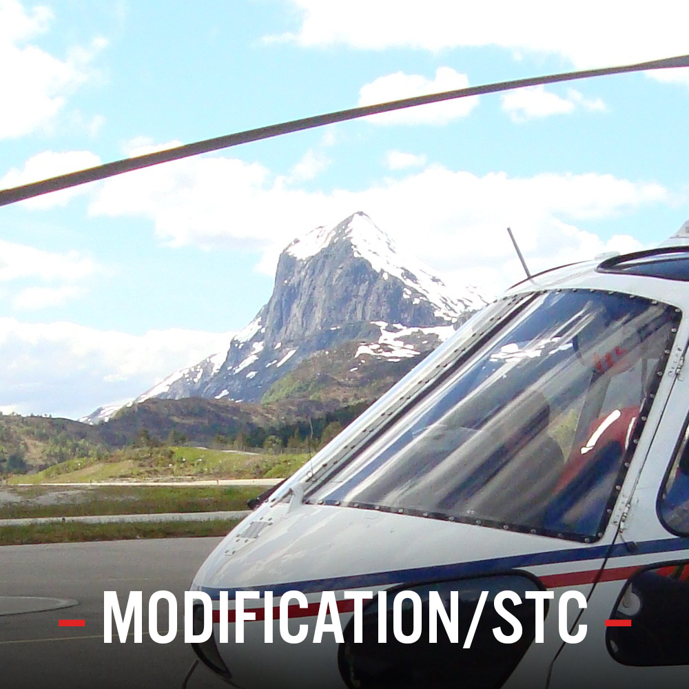 AW139    AS332/EC225    AS365/EC155    BK117/EC145    EC135    AS350/EC130    Modification List
