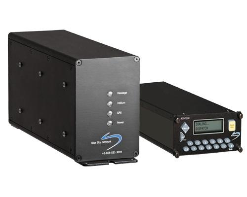 BlueSky modem and control panel