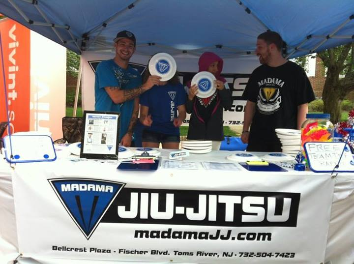 MBJJ Giving Out Flying Discs, Stickers, and Free Passes!