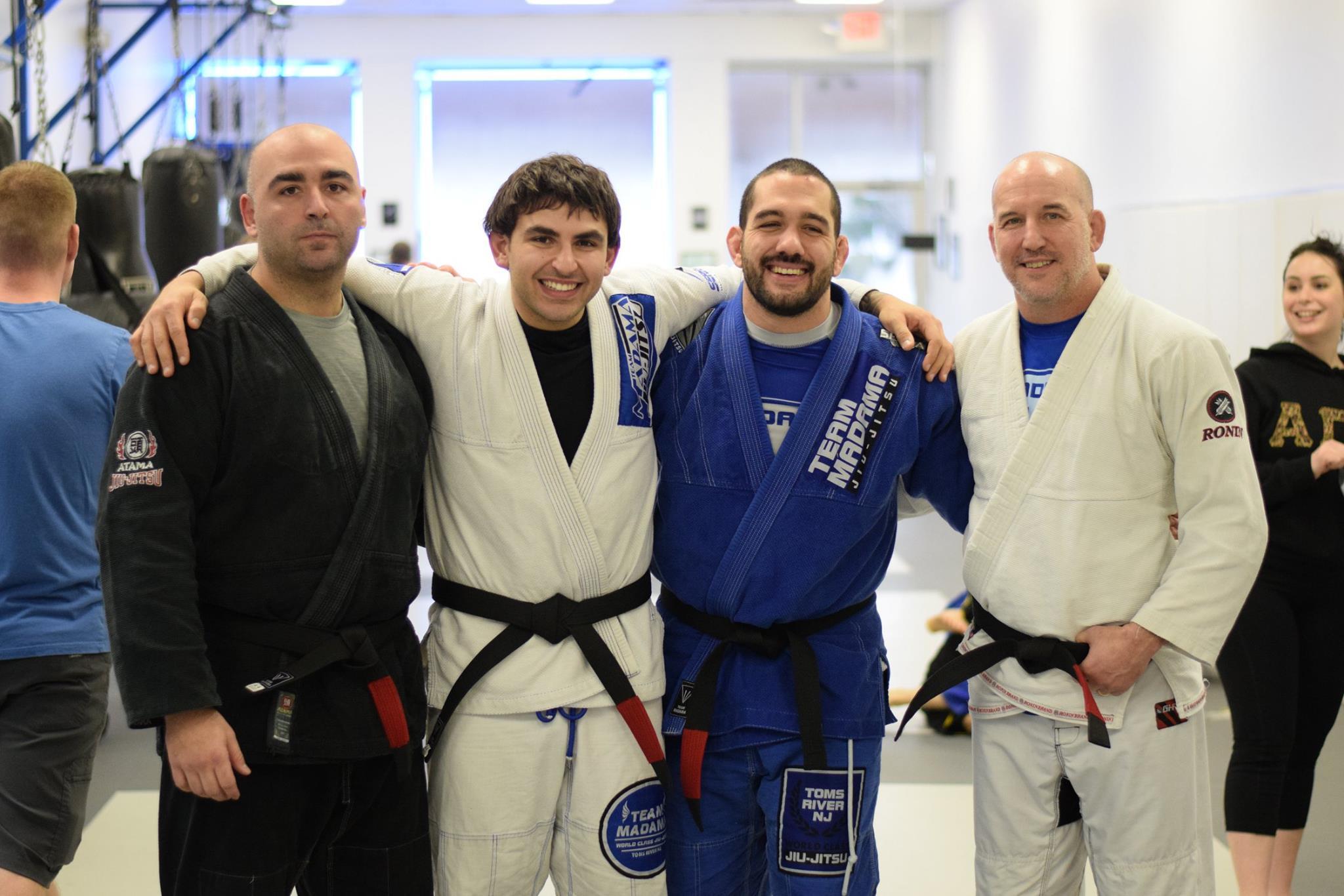Professors Mike Kuchta, Joe-John Kuchta, Mike Elshamy, and Jim McCormick