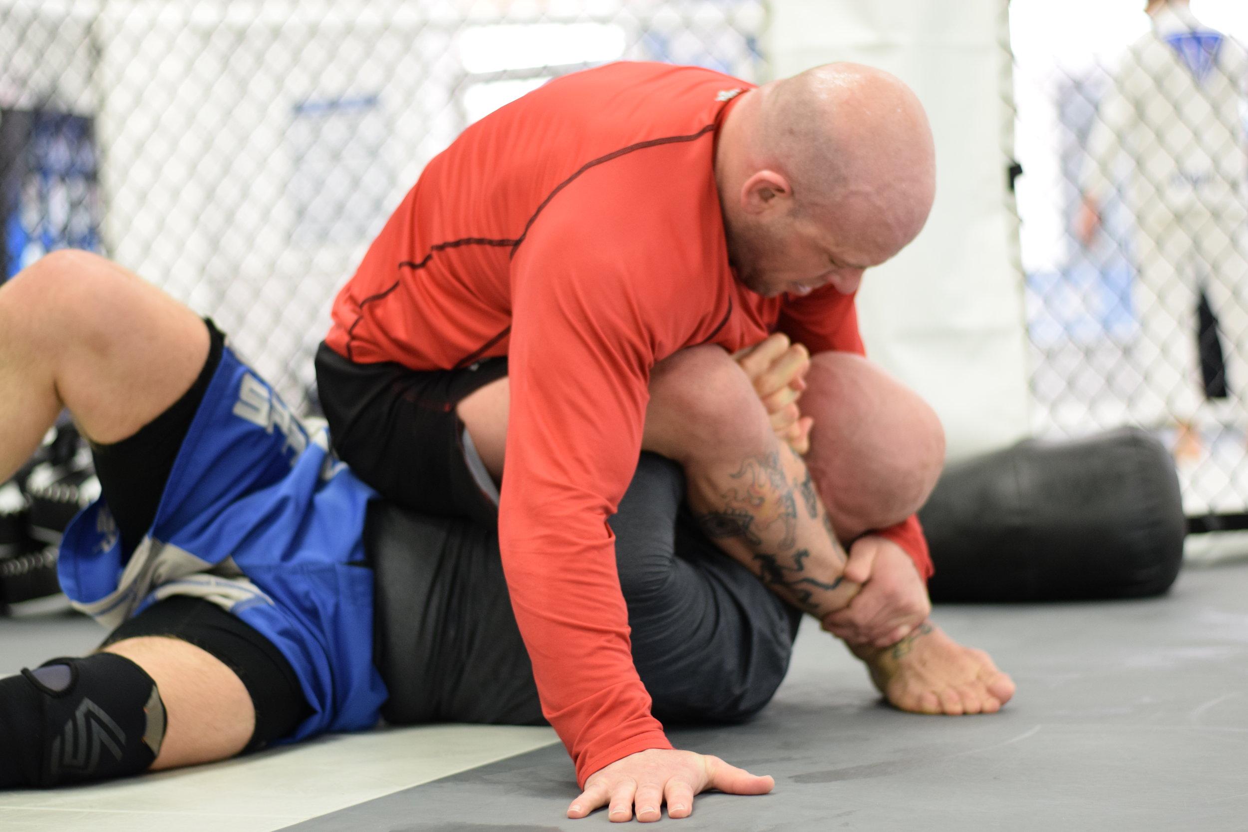 No gi submission grappling at Madama Jiu-Jitsu Academy.