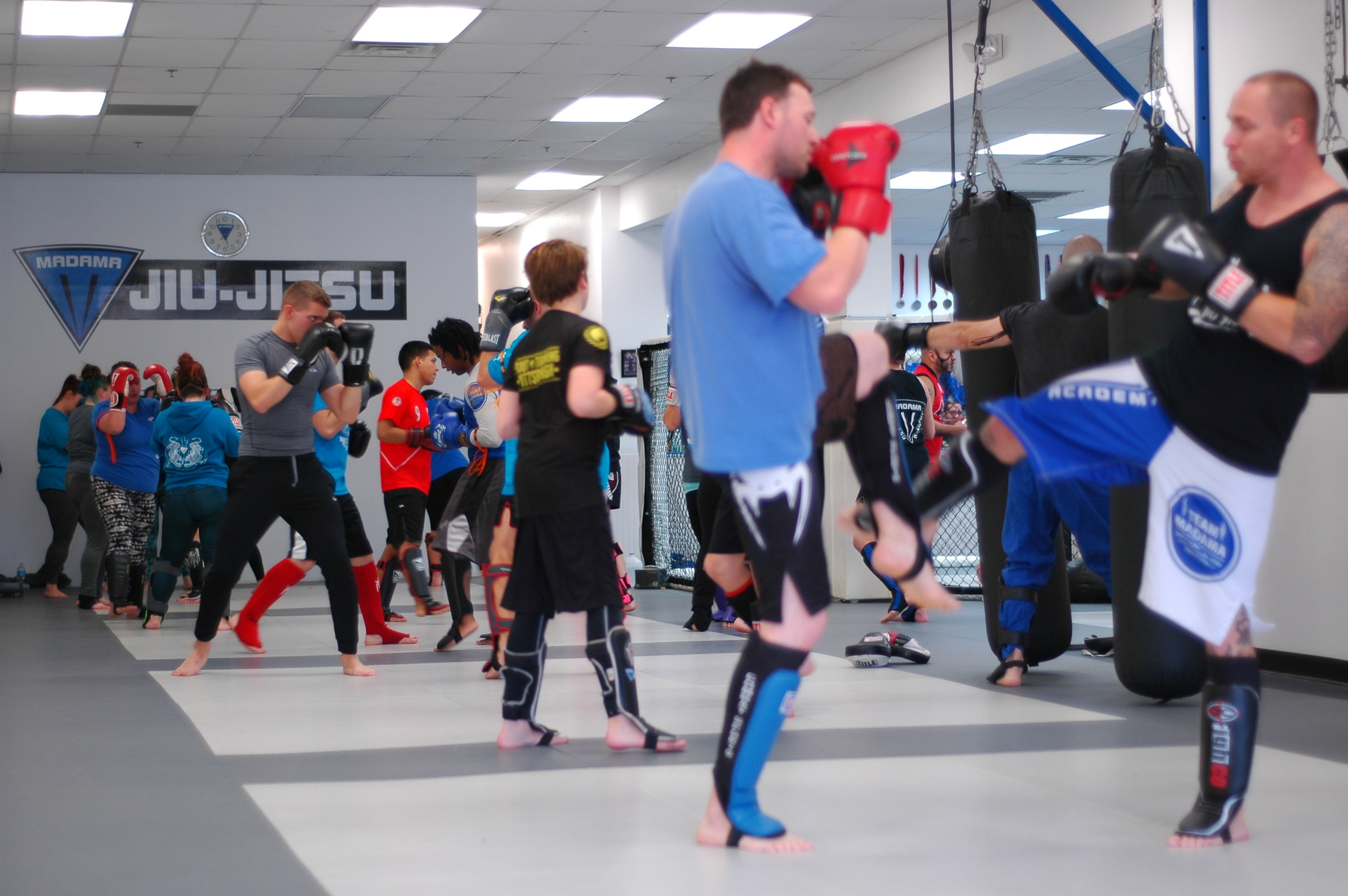 Learn Self-Defense & Get in Shape   Kickboxing    Free Trial Class