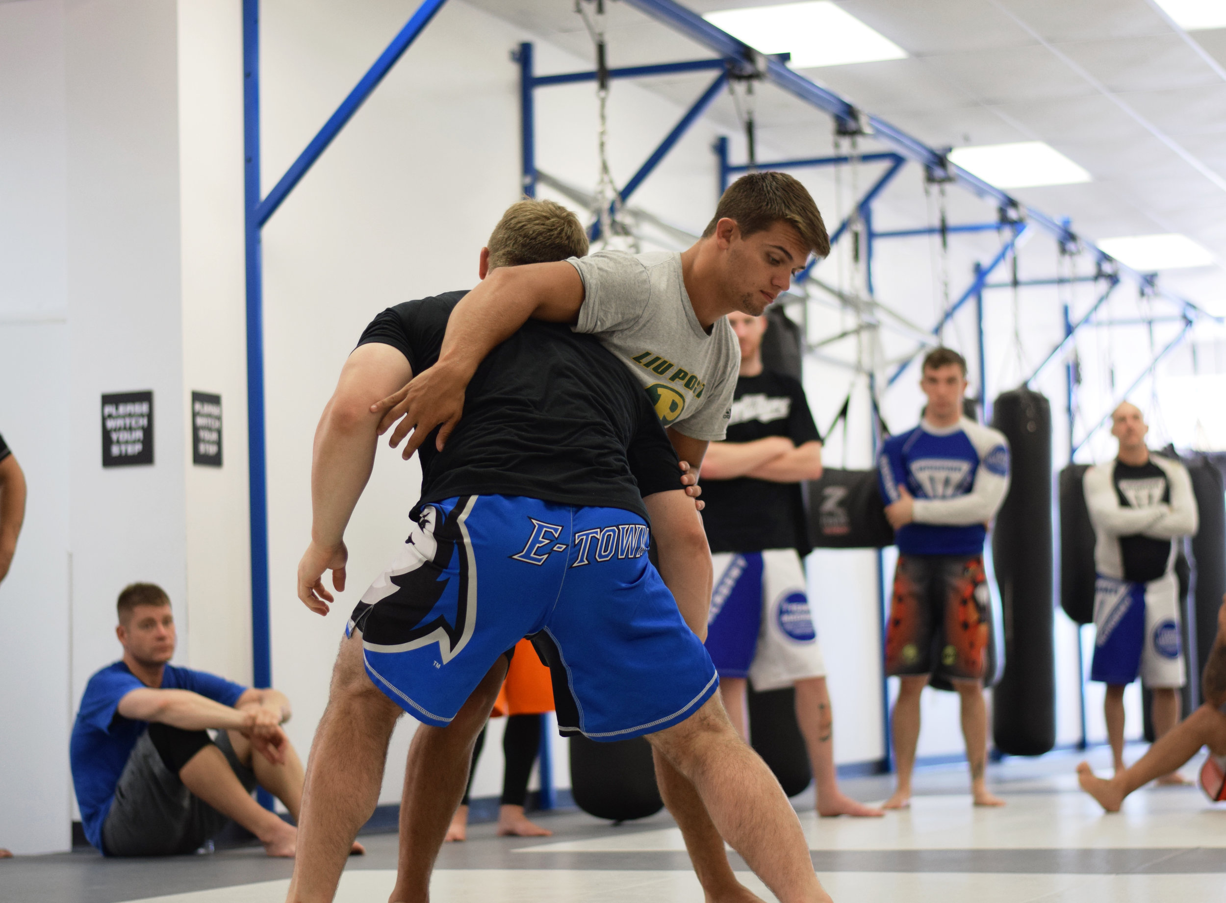 Wrestling seminar with All-American Wrestler and Team Madama Member Julian Meaney