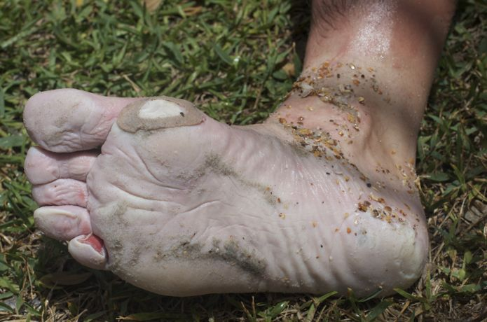 Photo courtesy of  Goruck.   Read their tips on foot care  HERE