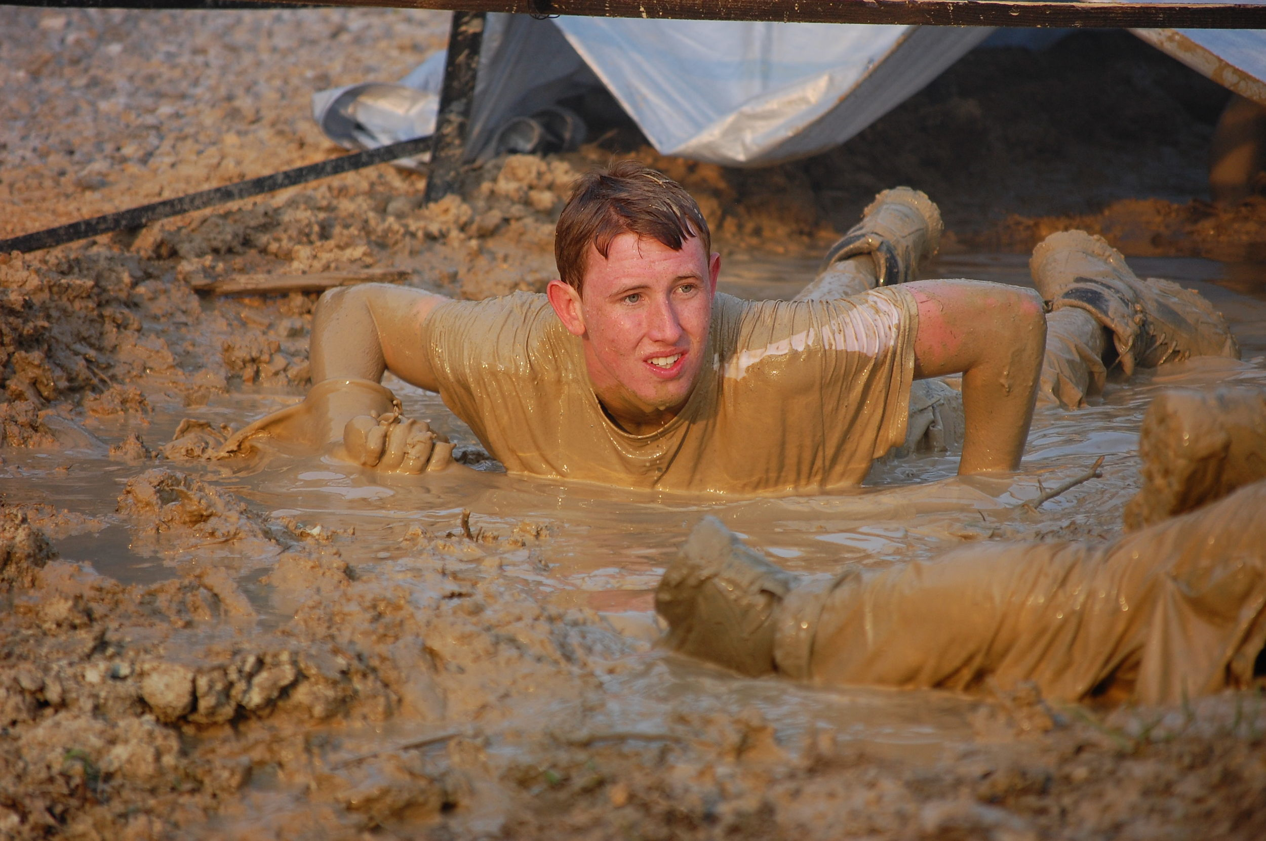 My son, Turner 16, during his SealFit 20x