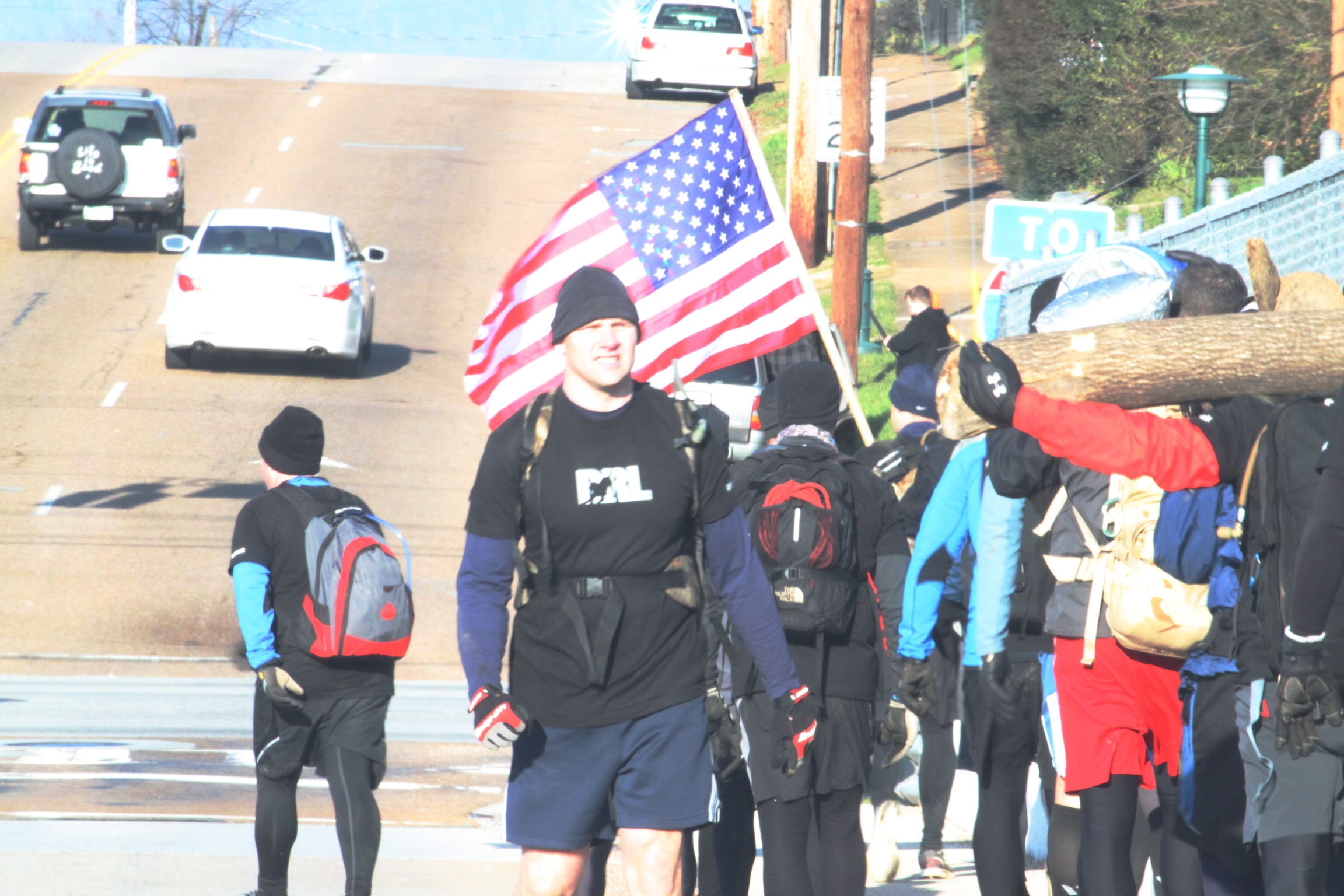Our Team in Goruck class 404