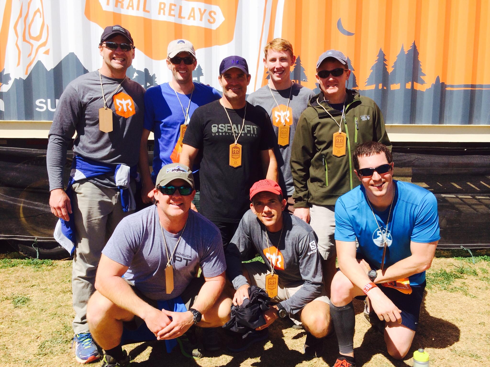 RRL Team at the Ragnar Trail. Good times